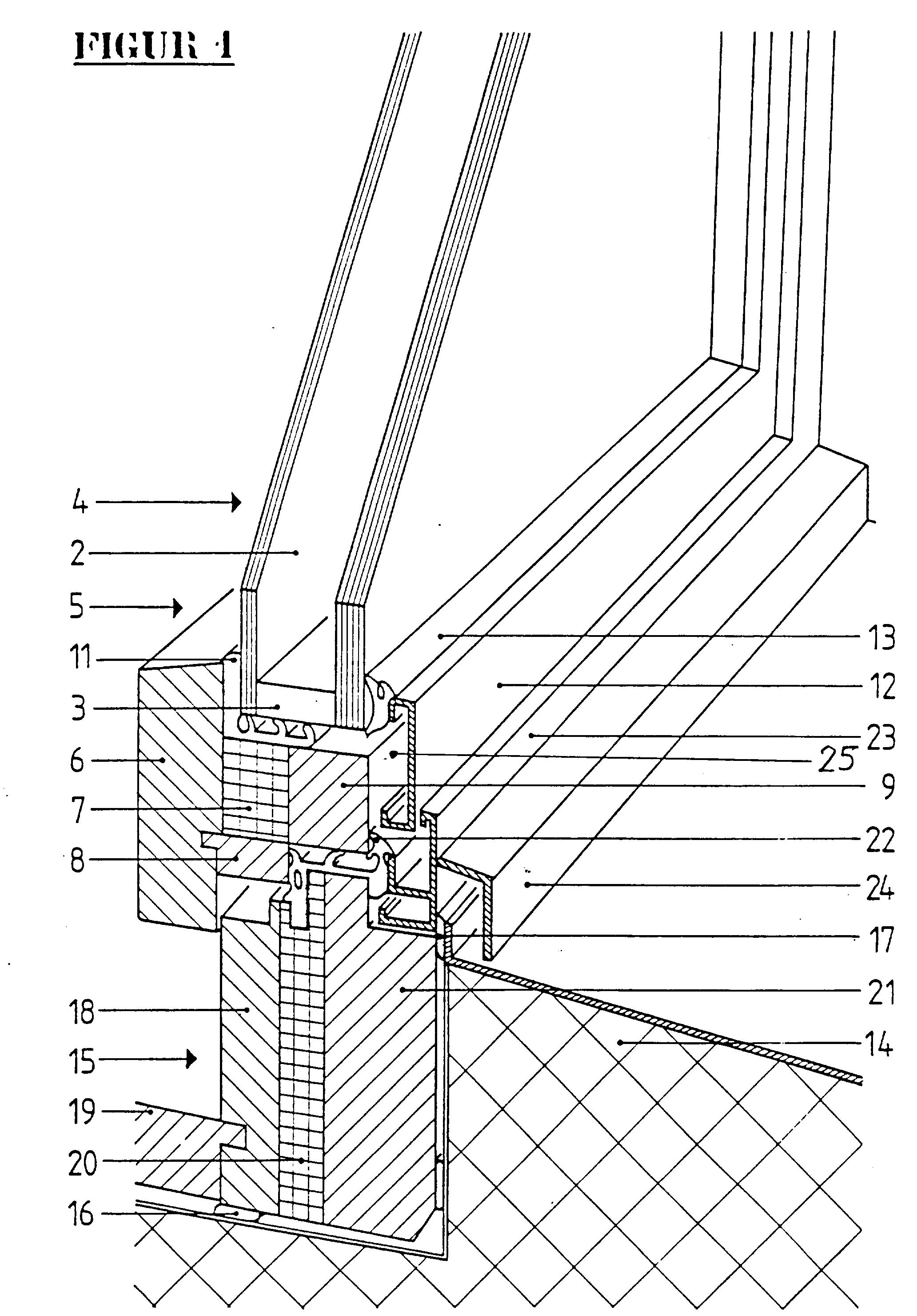 Kunststofffenster detail schnitt  Patent EP0493552B1 - Statisch stabile, thermisch vollständig ...