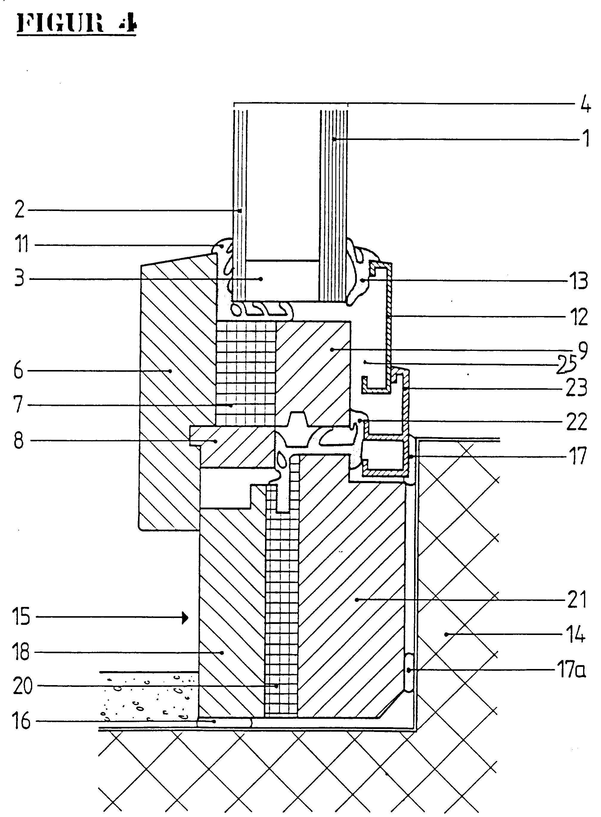 Patent ep0493552b1 statisch stabile thermisch for Fenster detail schnitt