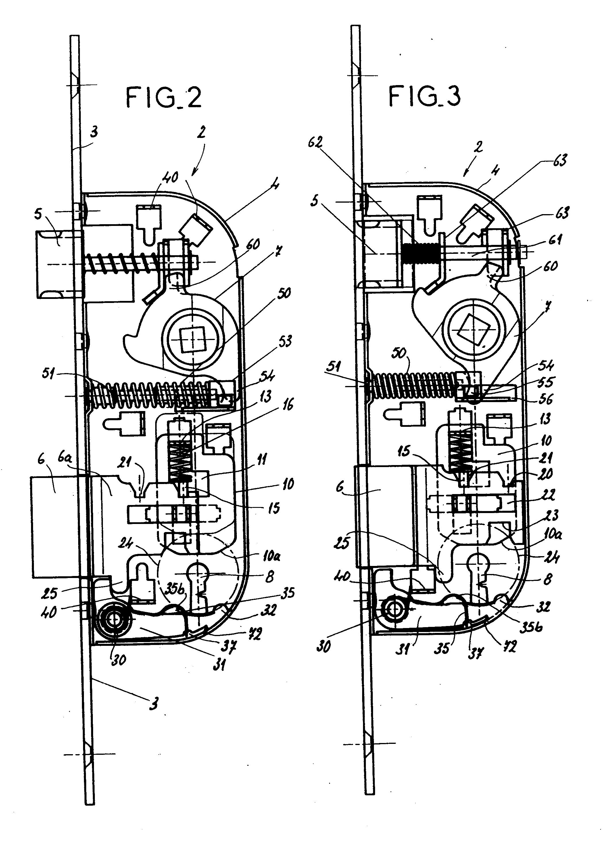 Patent ep0495736a1 serrure du type destin e tre for Le dormant d une porte