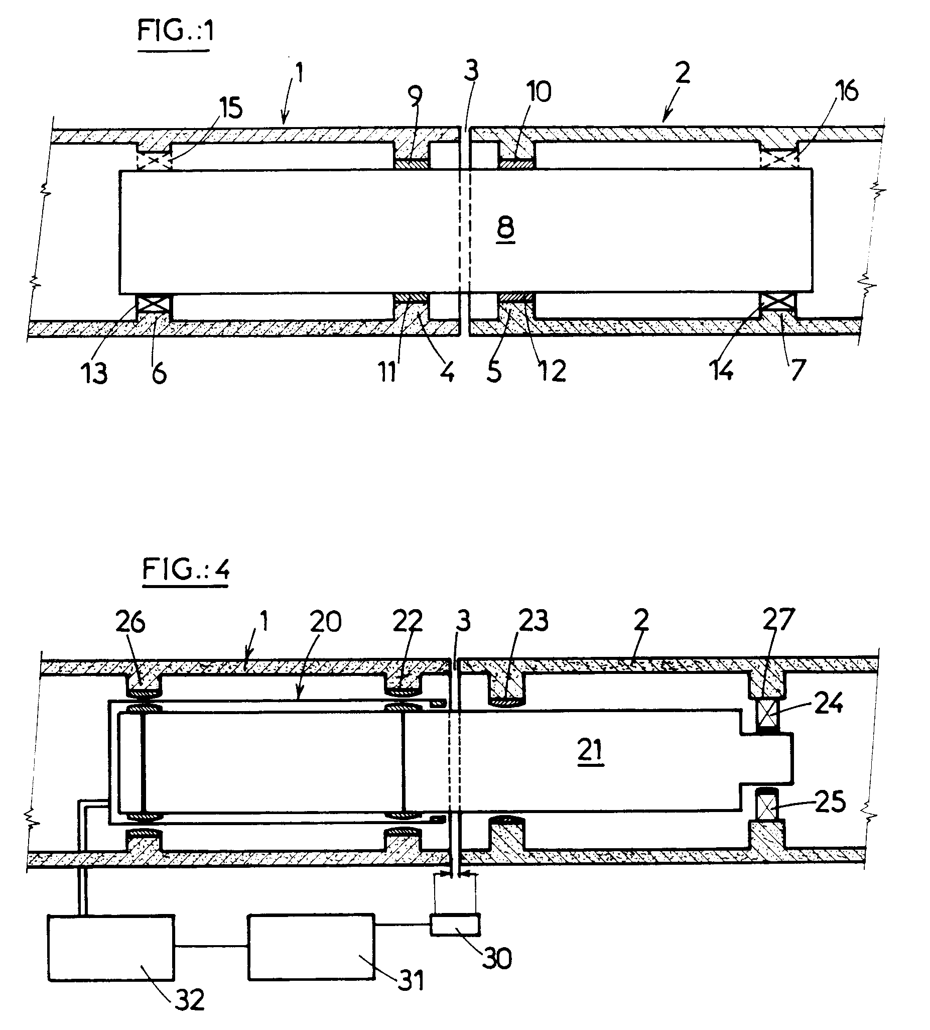 Expansion Joint Parts : Patent ep b connecting structure between two