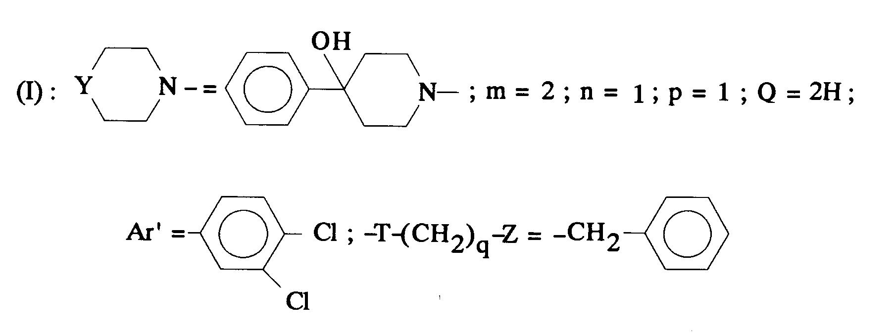 Patente EP0512901A1 - Aminated polycyclic compounds and
