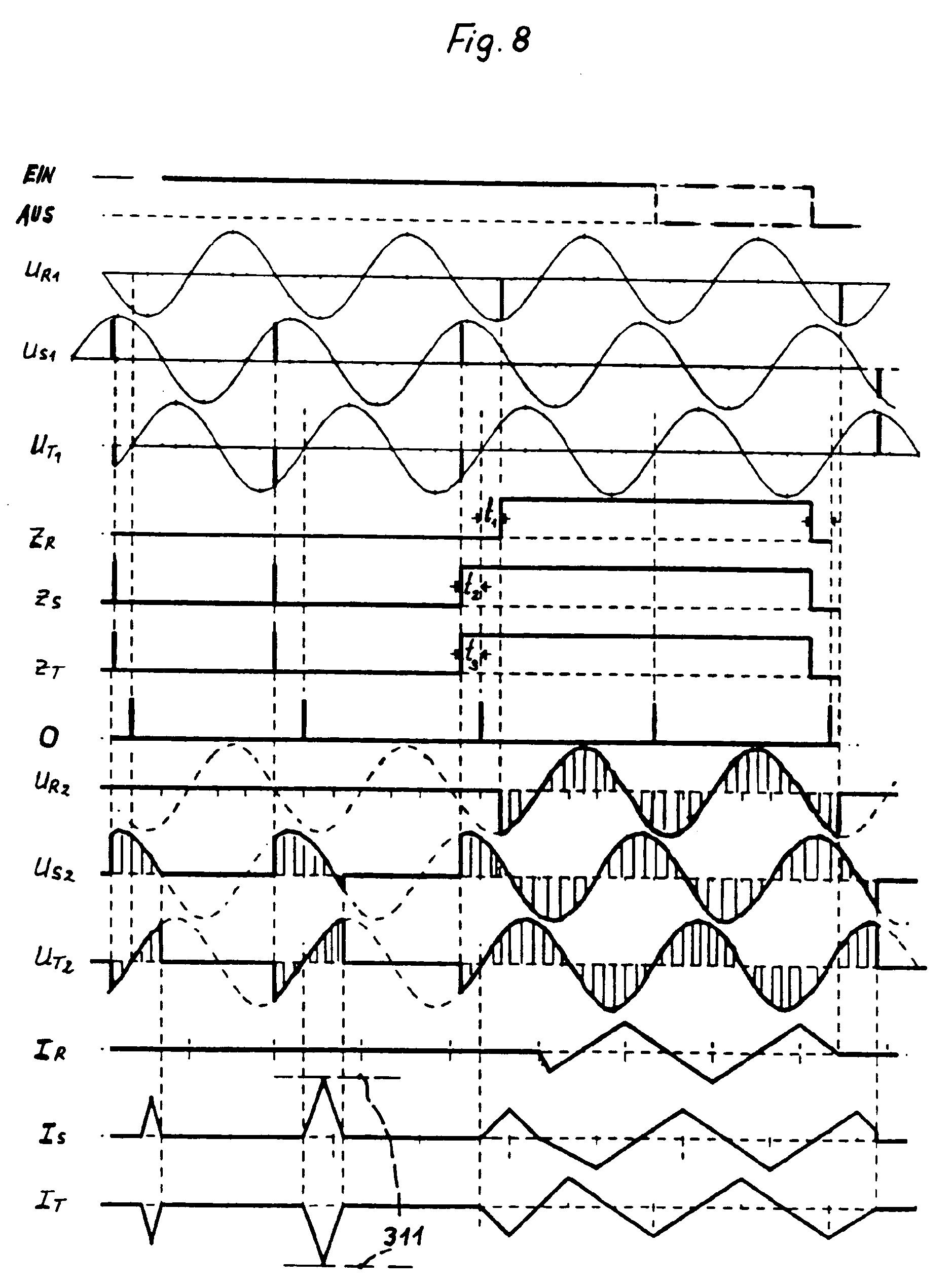 patent ep0527137b1 verfahren und vorrichtung zur reduzierung des einschaltstromstosses beim. Black Bedroom Furniture Sets. Home Design Ideas