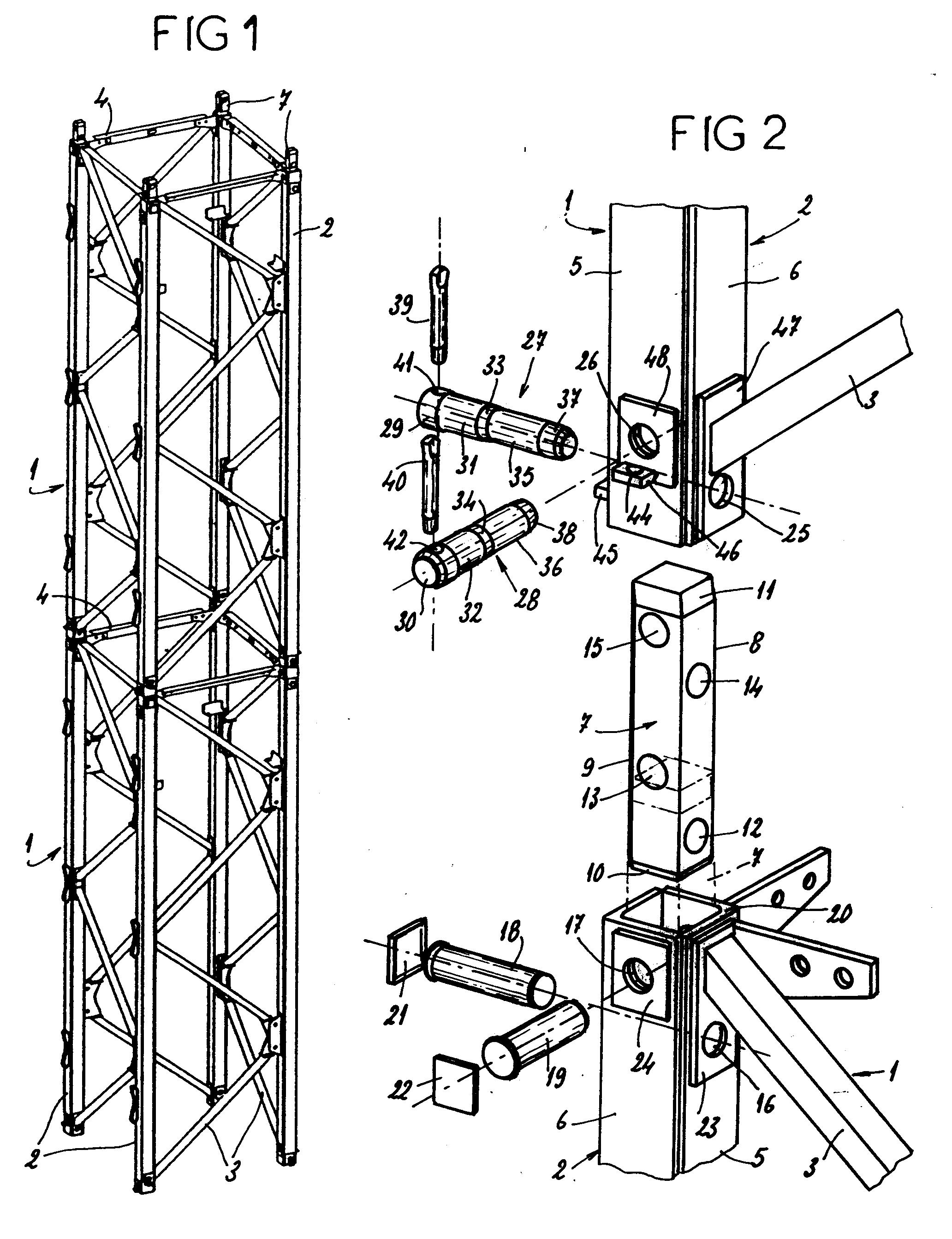 patent ep0530114a1 dispositif d 39 assemblage d montable. Black Bedroom Furniture Sets. Home Design Ideas