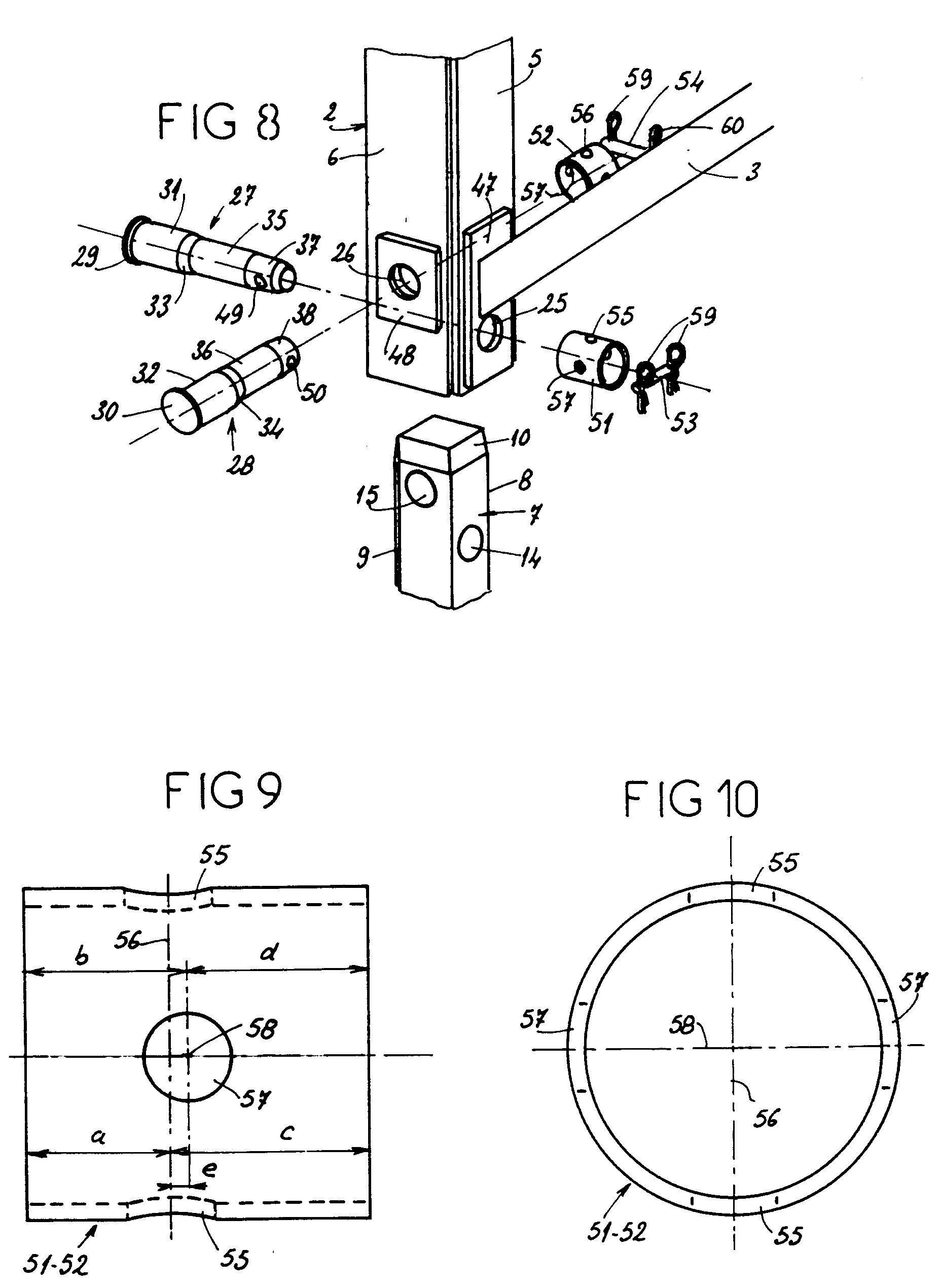 patent ep0530114b1 dispositif d 39 assemblage d montable. Black Bedroom Furniture Sets. Home Design Ideas