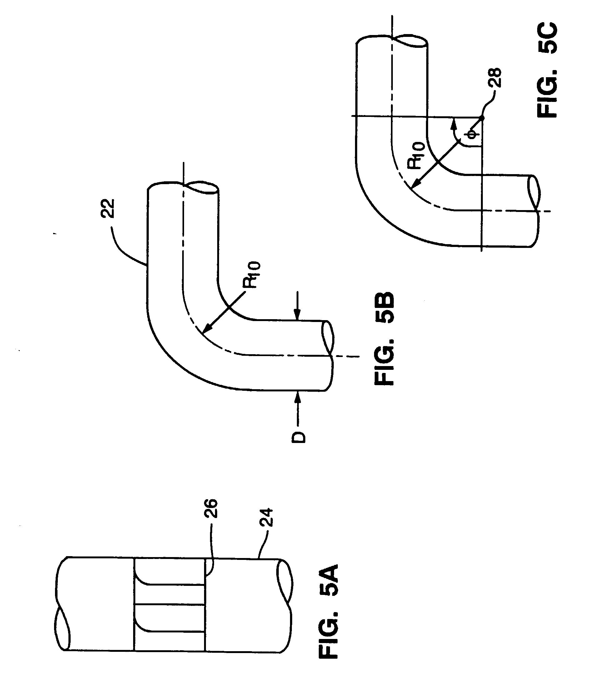 patent ep0532697b1 - laminar flow elbow system