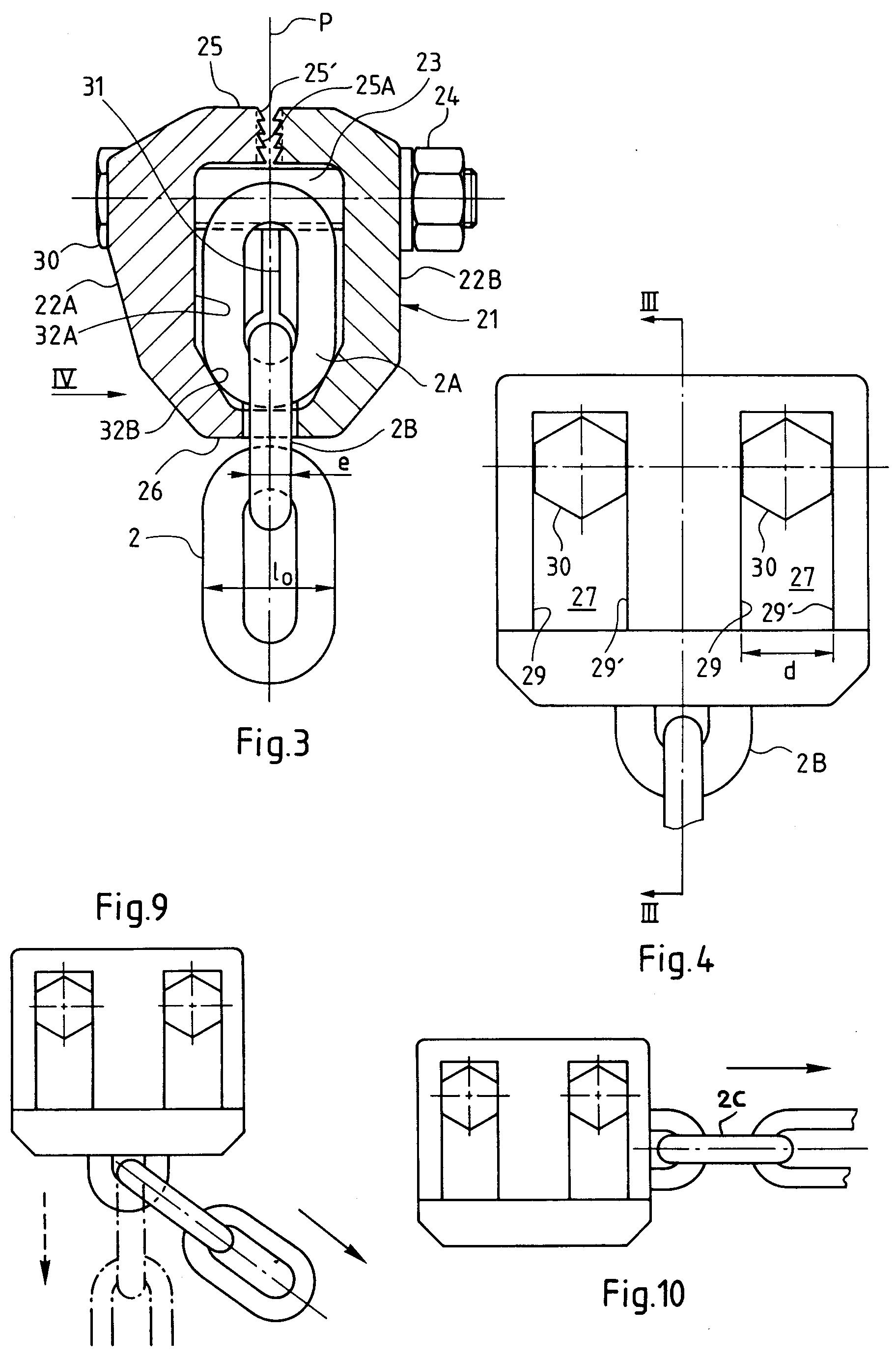 patent ep0537038b1 pince de traction autoserrante pour le redressement d 39 l ments de. Black Bedroom Furniture Sets. Home Design Ideas