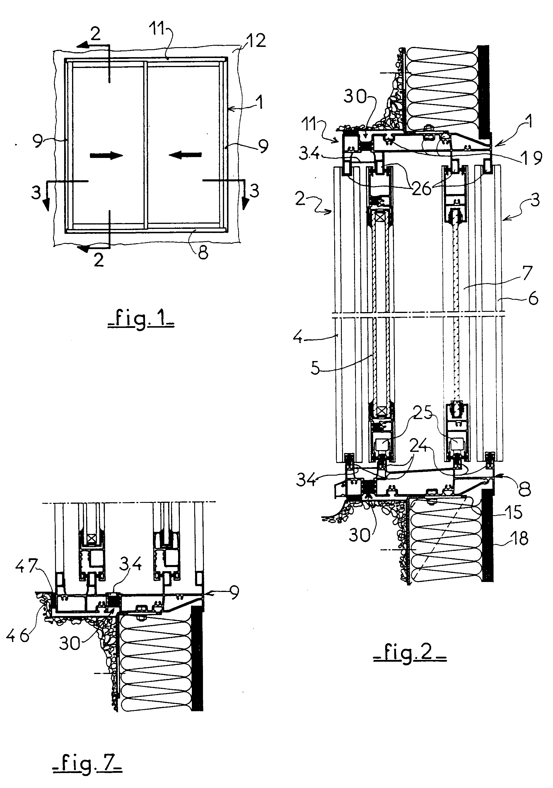 Patent ep0541453a1 thermally and acoustically insulating for Chassis de fenetre