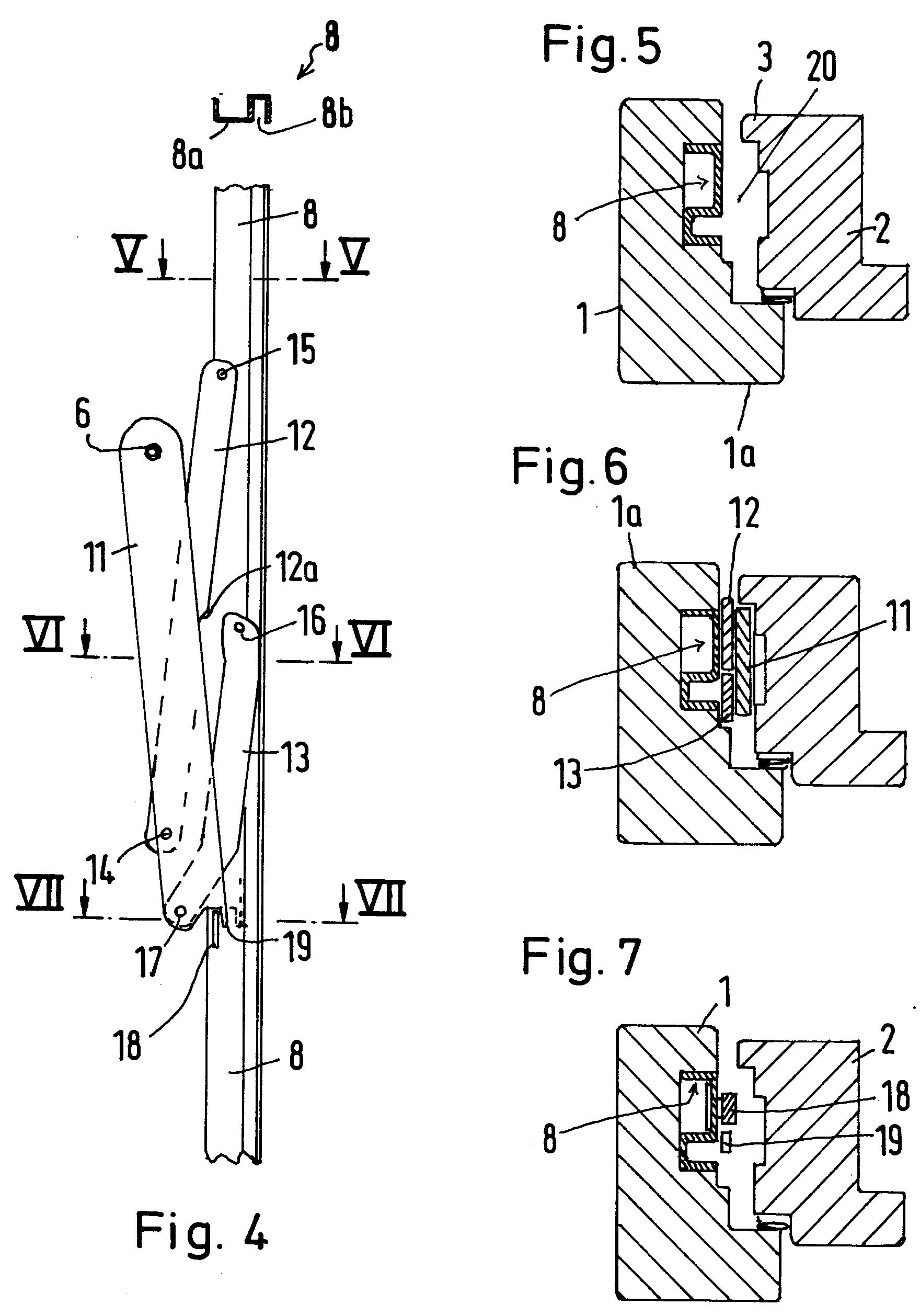 patent ep0542050a1 beschlag f r um 180 grad nach innen oder aussen kipp bzw klappbare fl gel. Black Bedroom Furniture Sets. Home Design Ideas