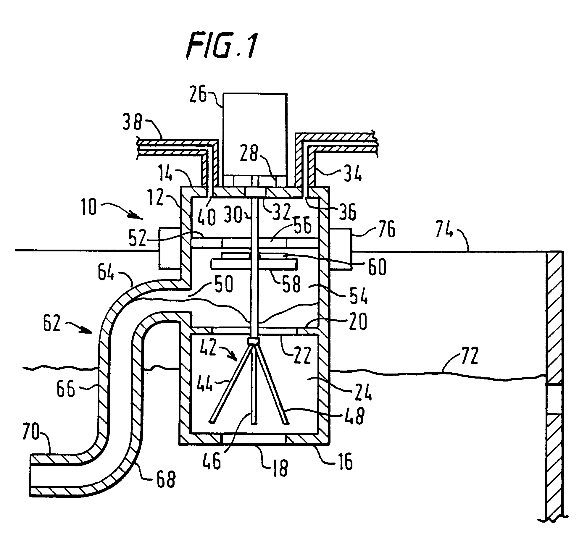 patent ep0555965b1 - controlled gas trap system