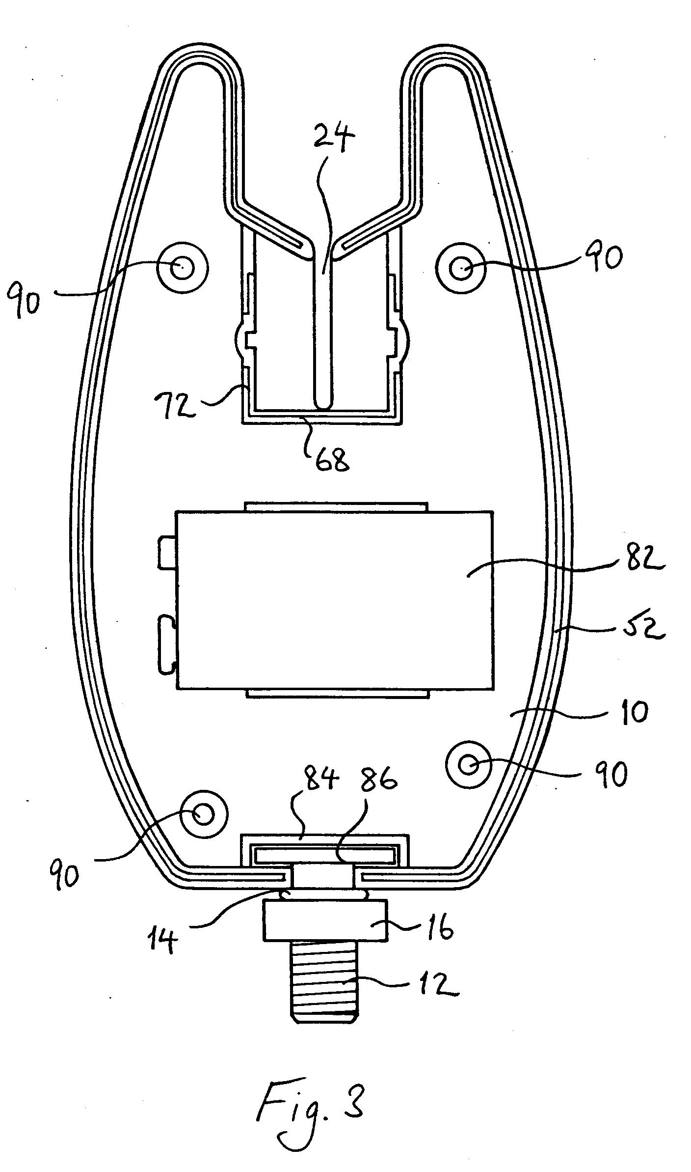 Patent Ep0570117a1 Fish Bite Indicators Google Patents Rainwateralarmcircuitpng Drawing
