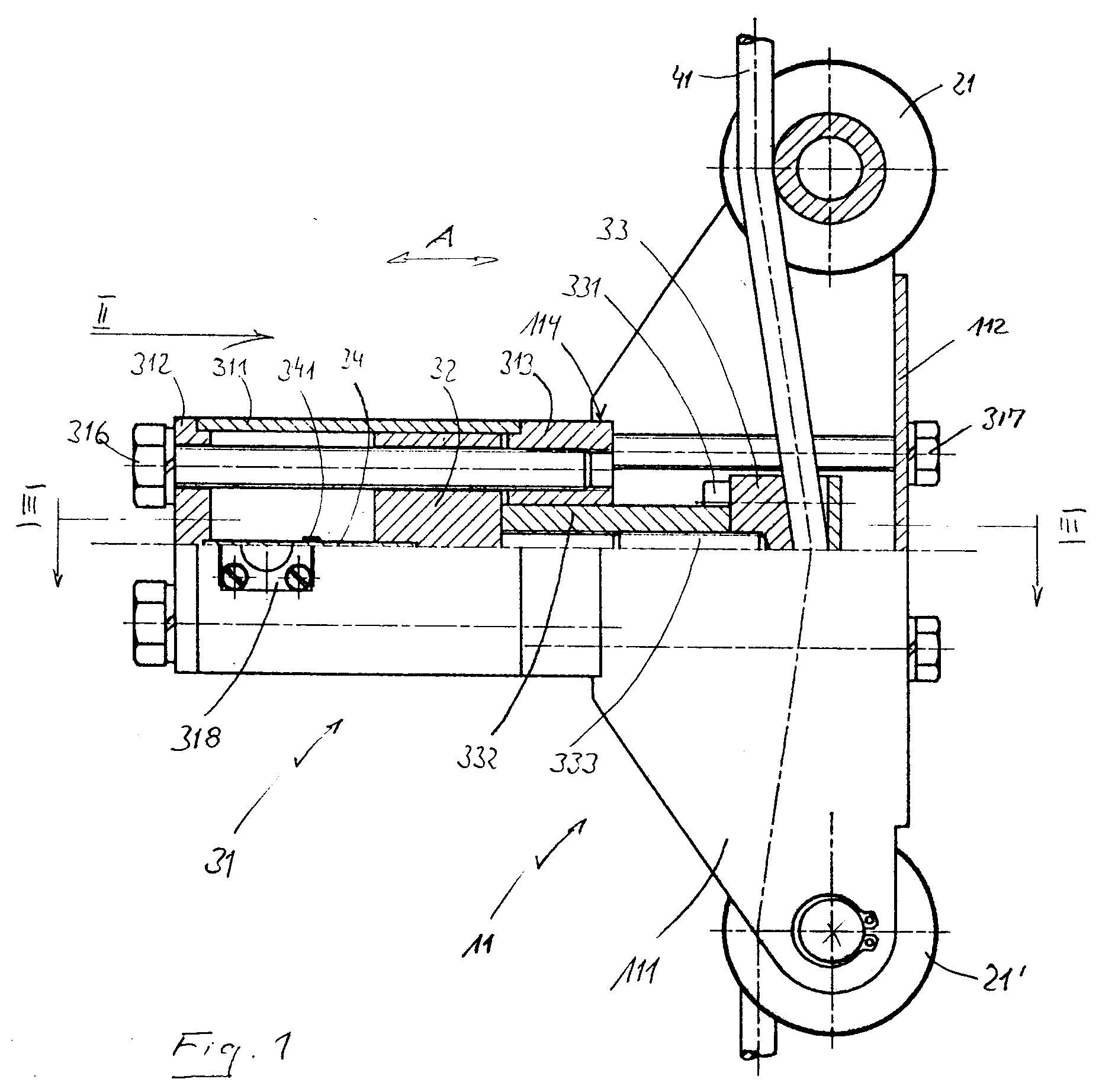 Patent ep0573831a1 messger t zur anzeige der for Zugstab druckstab