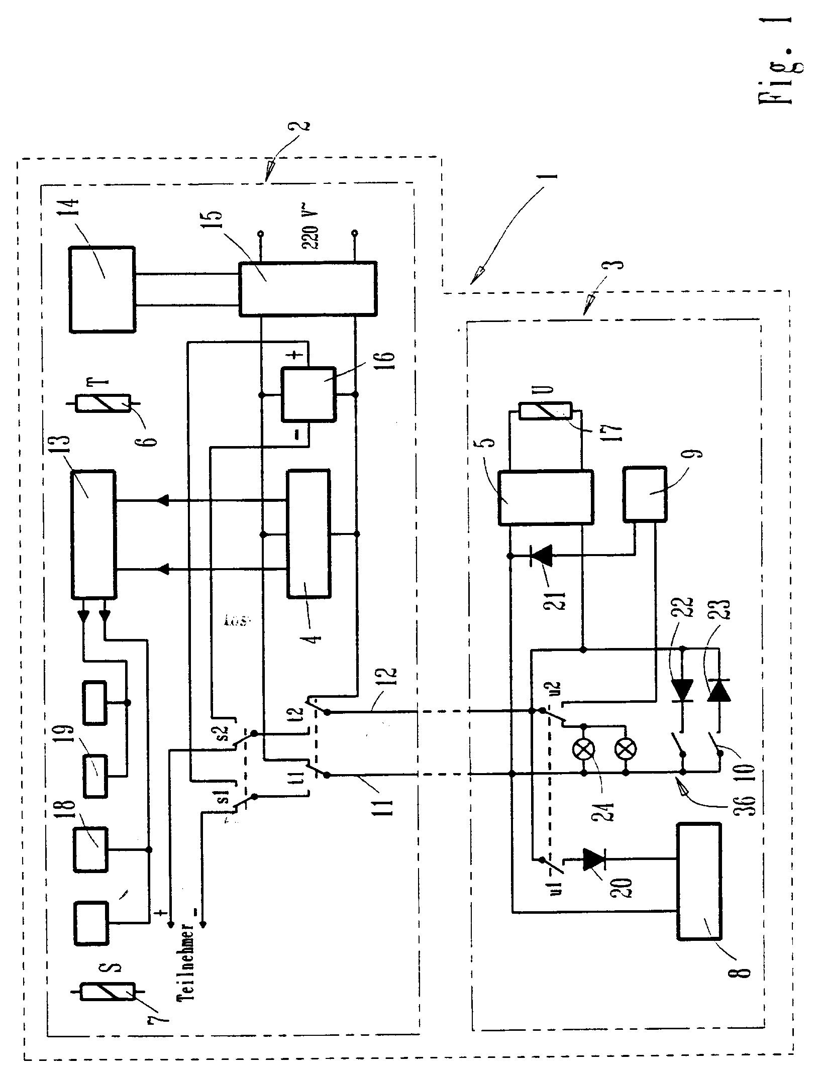 patent ep0579345a1 - door telephone