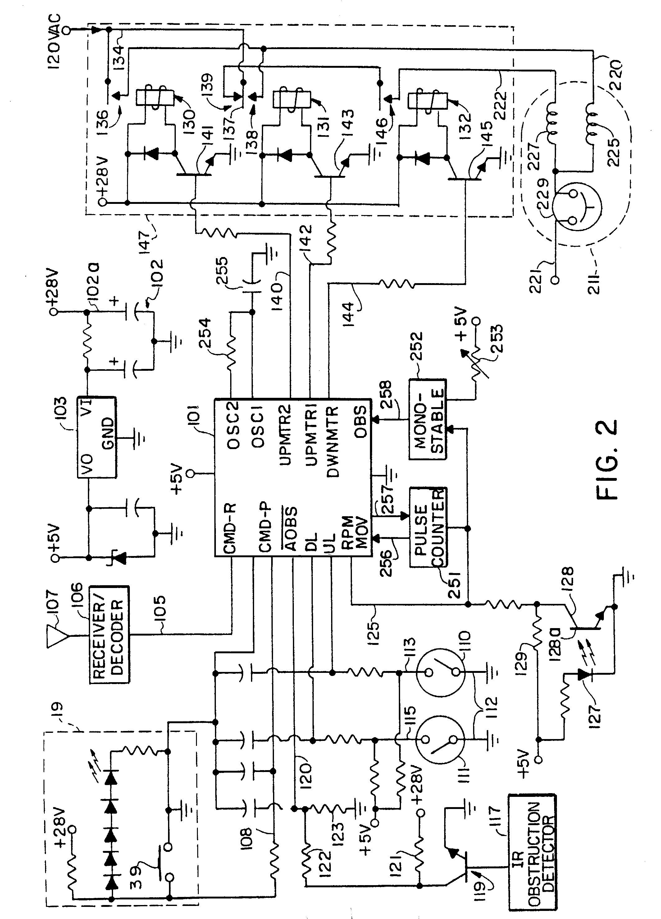 wiring diagram for chamberlain door opener door popper