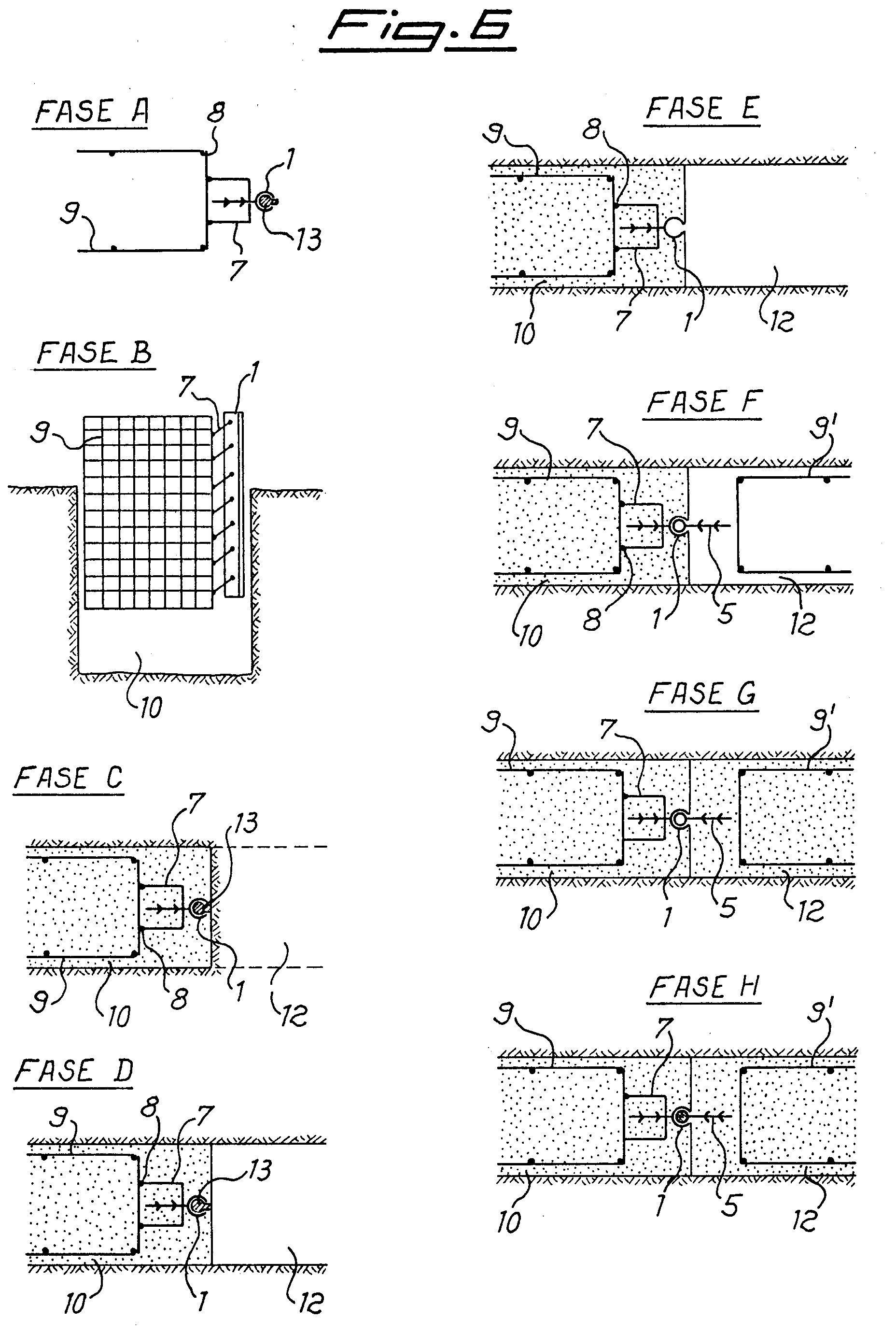 Patent EP0580926A1 - Sealing joint in diaphragms formed by ...