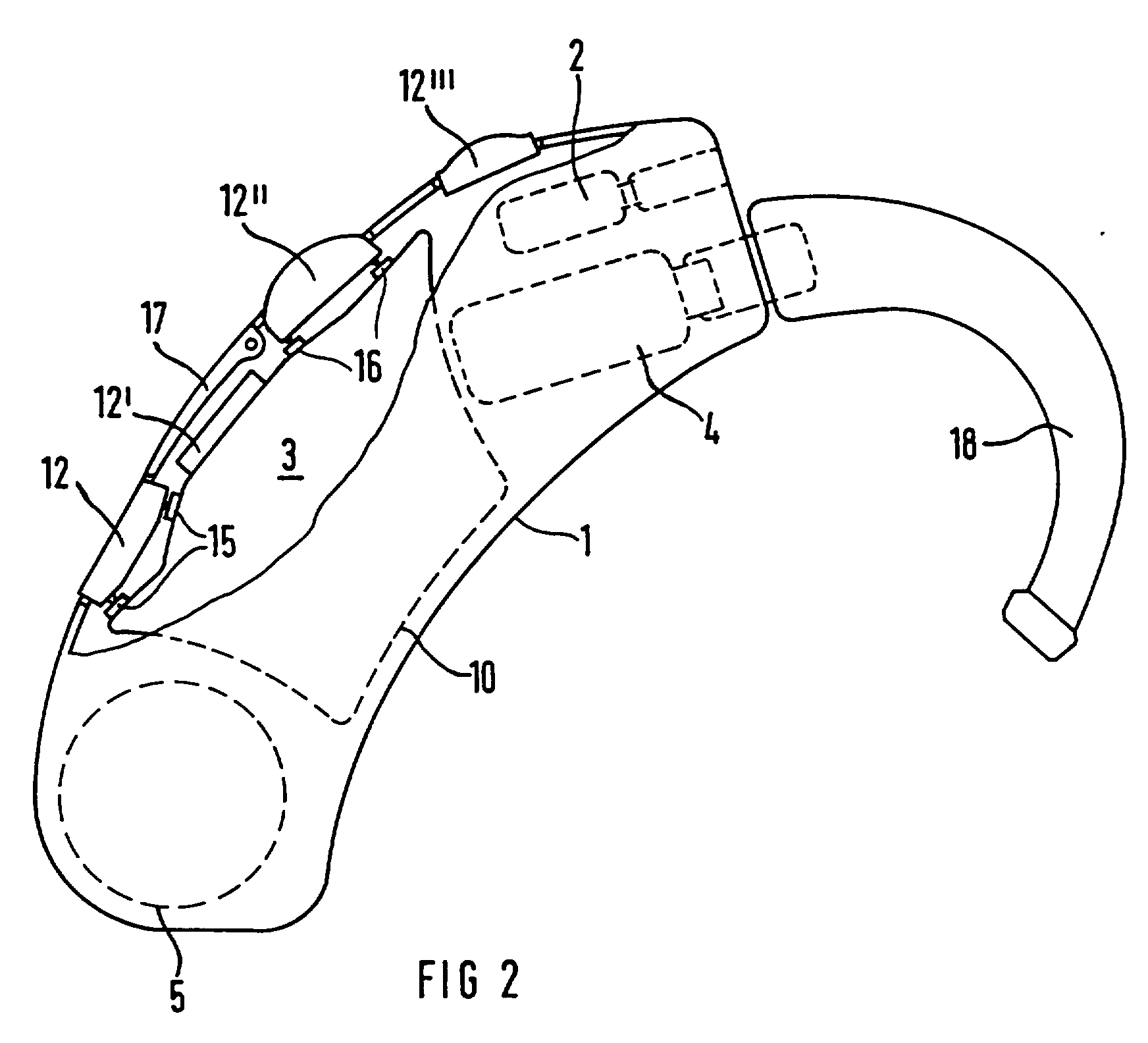 patent ep0585485b1 - hearing-aid device