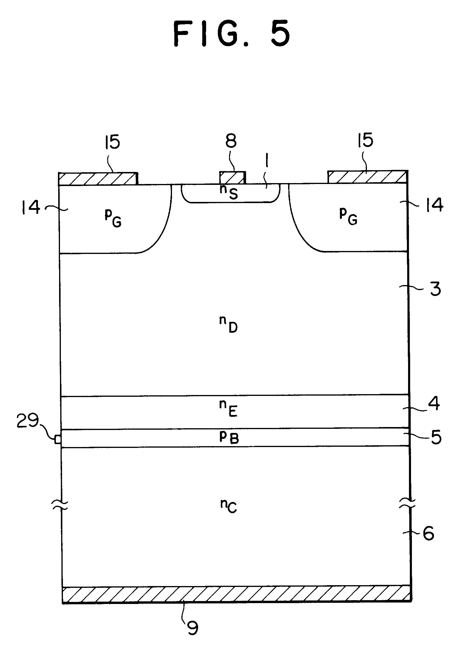 专利ep0599221a1 - igbt