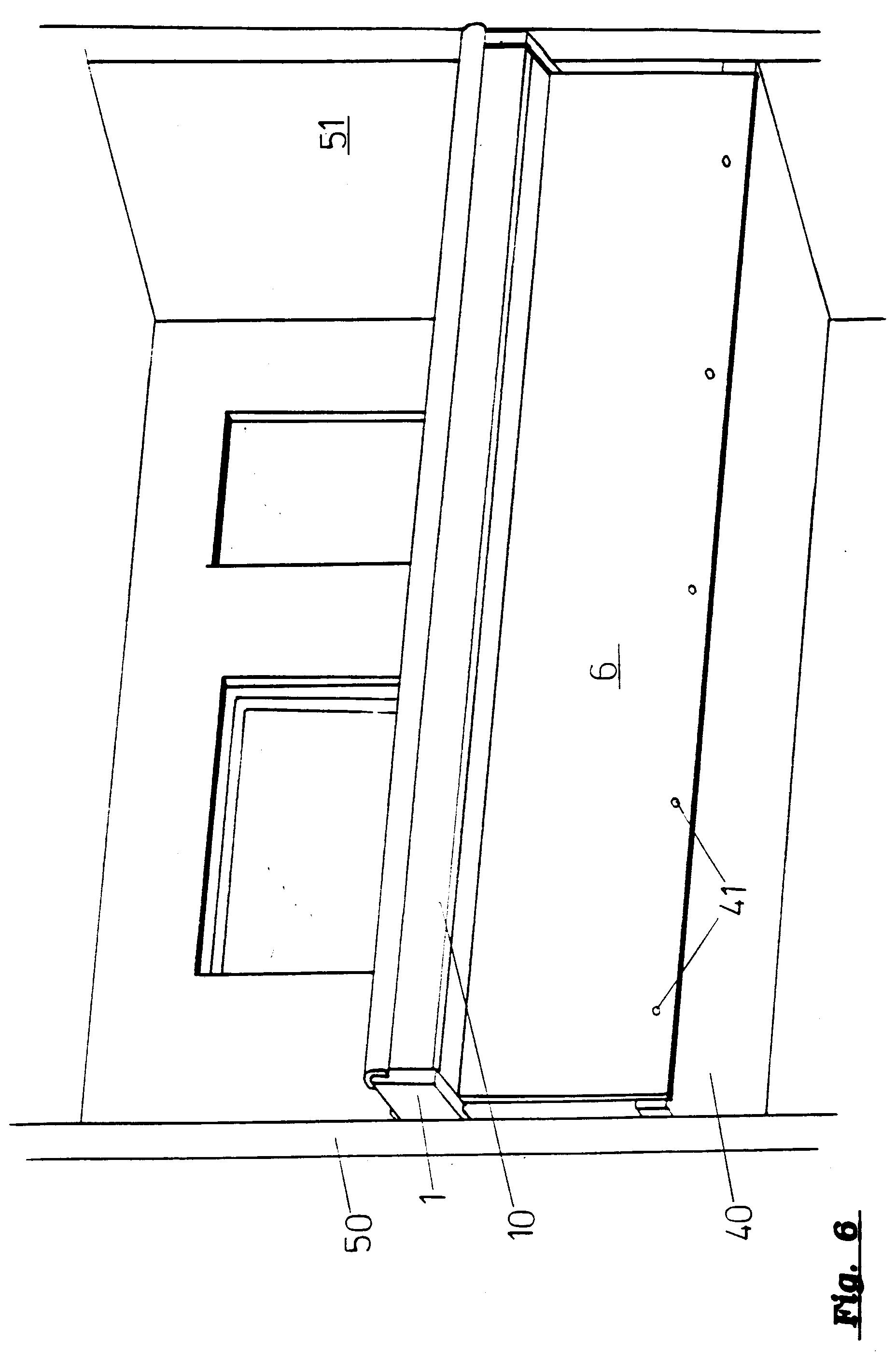 Balkongeländer Befestigung Unterseite patent ep0606557a1 geländer zur befestigung an seitlichen