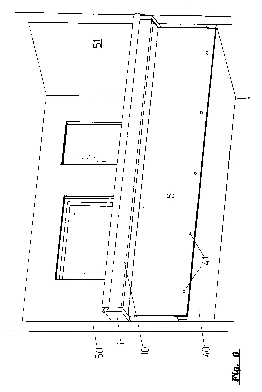 Balkongeländer Befestigung Unterseite patent ep0606557b1 geländer zur befestigung an seitlichen