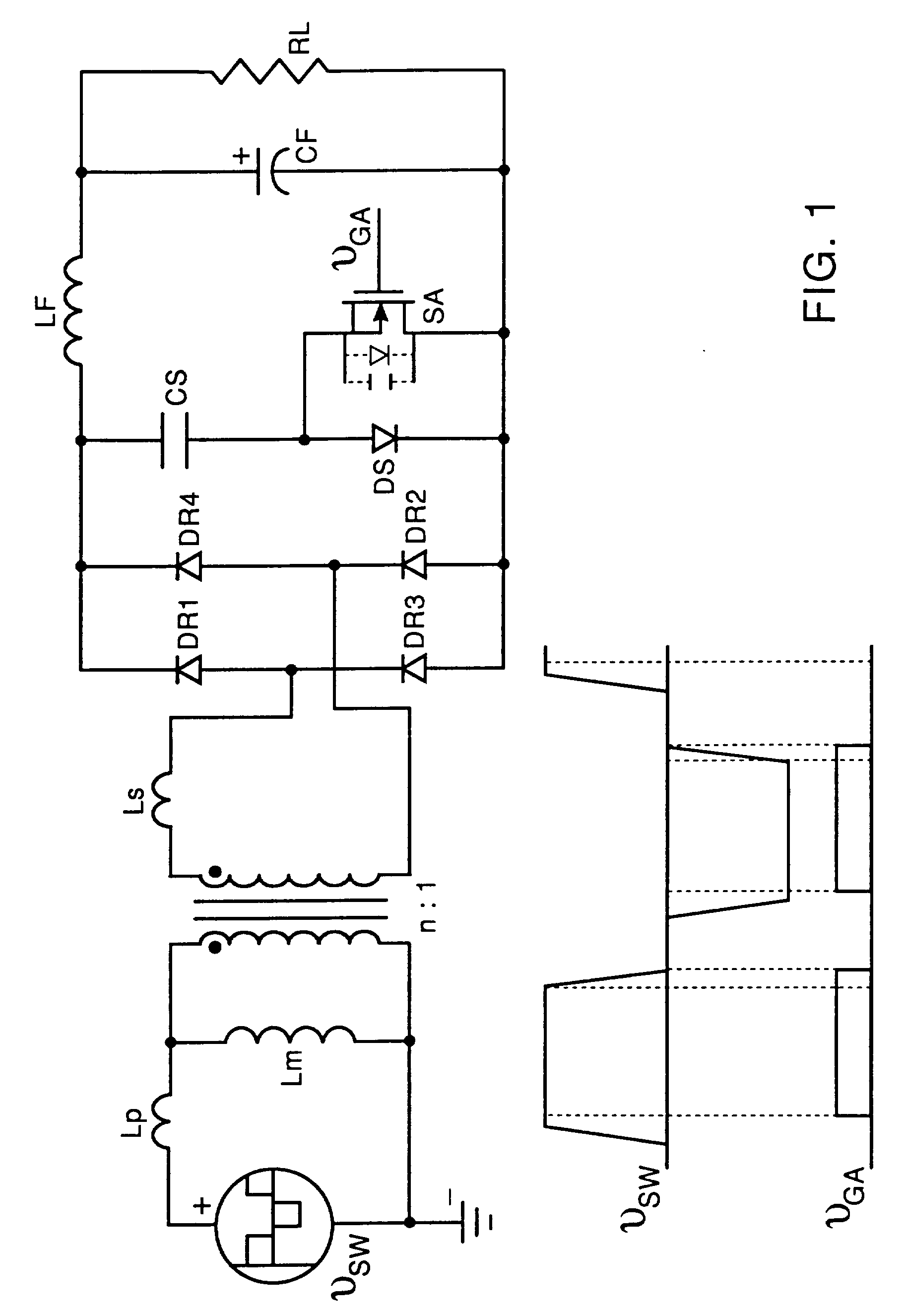 patent ep0614267b1 - lossless active snubber for half-bridge output rectifiers