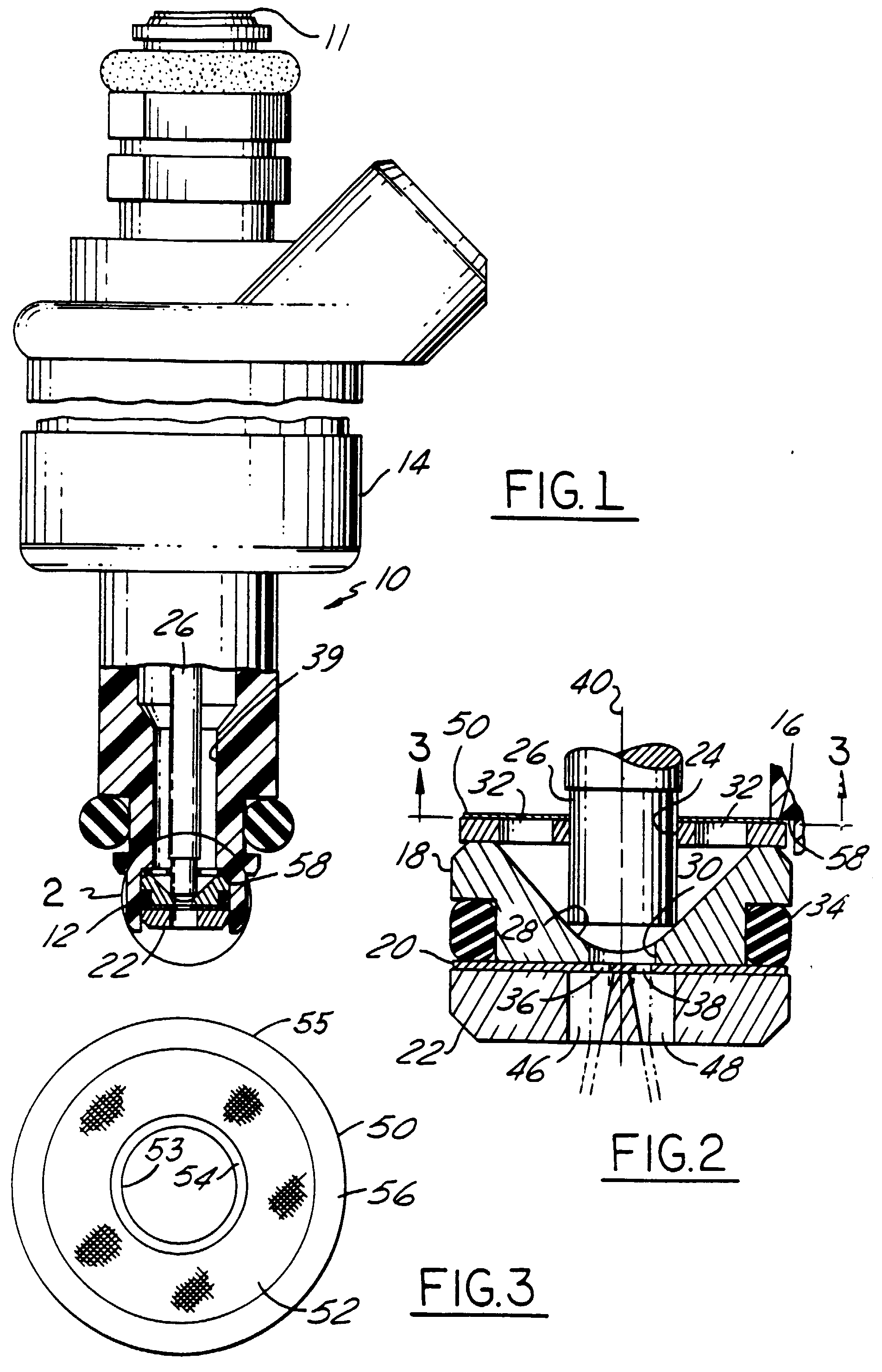 ford tractor fuel shut off valve