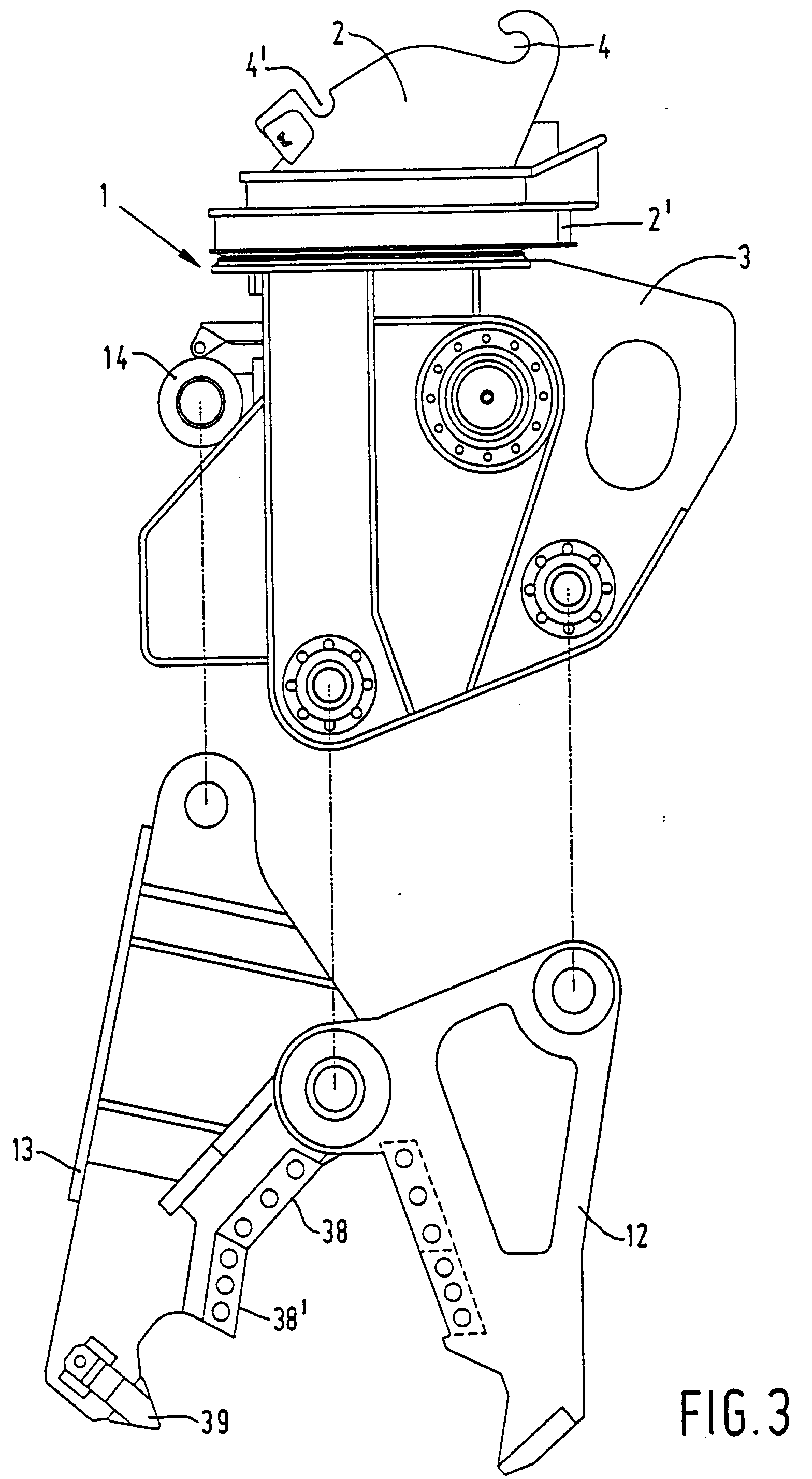 patent ep0641618b1 vorrichtung zum brechen und schneiden. Black Bedroom Furniture Sets. Home Design Ideas