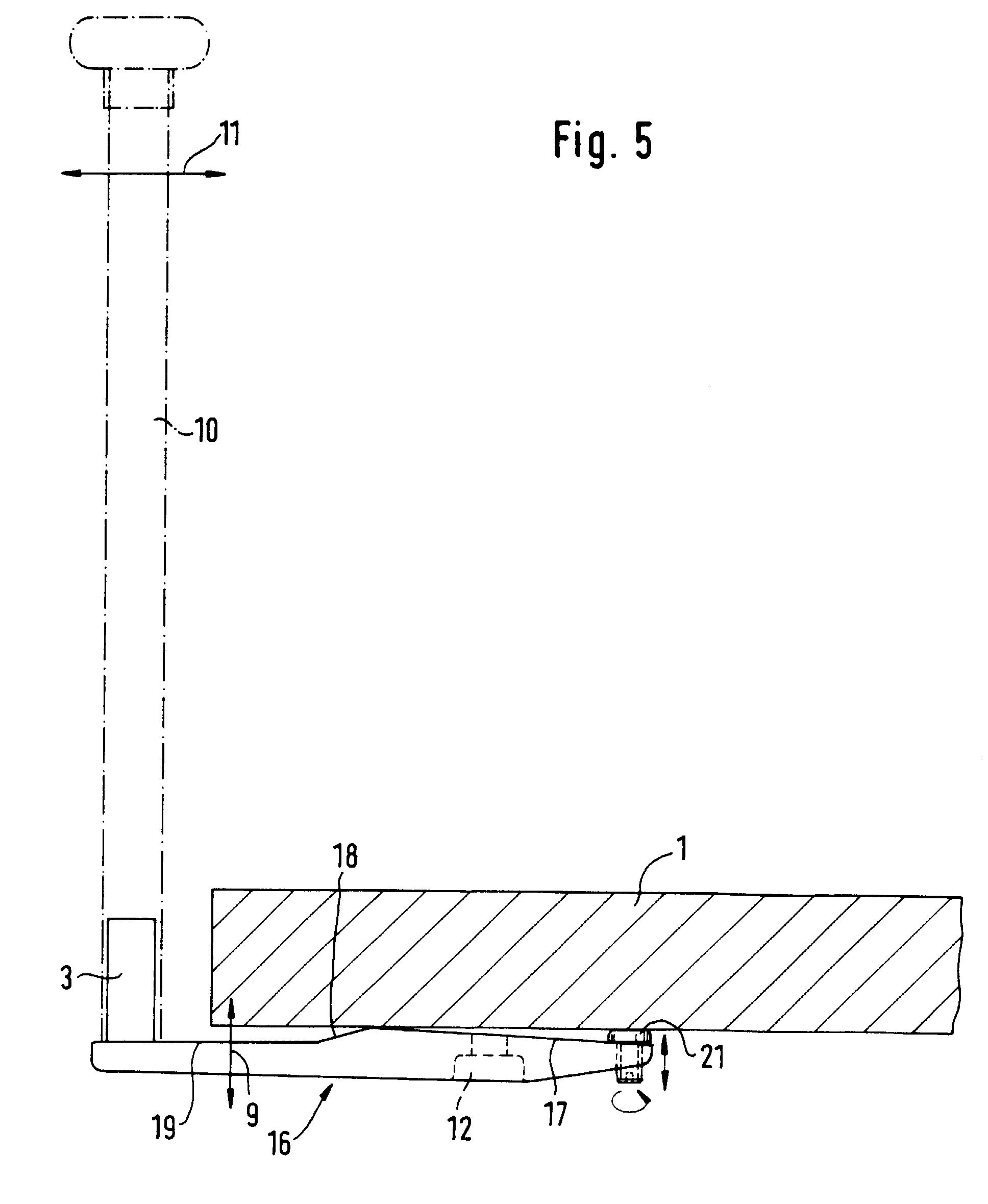 patent ep0644307b1 pfostenhalter f r vorgesetzte balkongel nder google patents. Black Bedroom Furniture Sets. Home Design Ideas