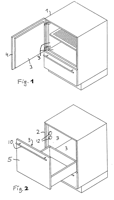 patent ep0650679b2 k chenm bel mit klimafach besonders. Black Bedroom Furniture Sets. Home Design Ideas