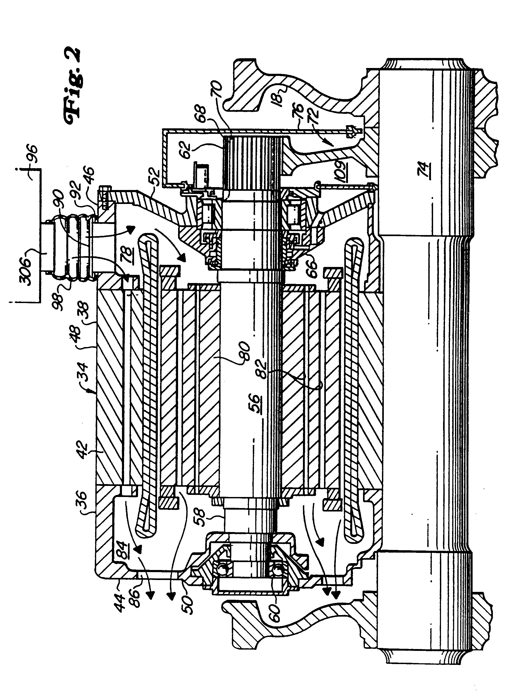 patent ep0656680a1 - ac traction motor with drive end bearing assembly for locomotive