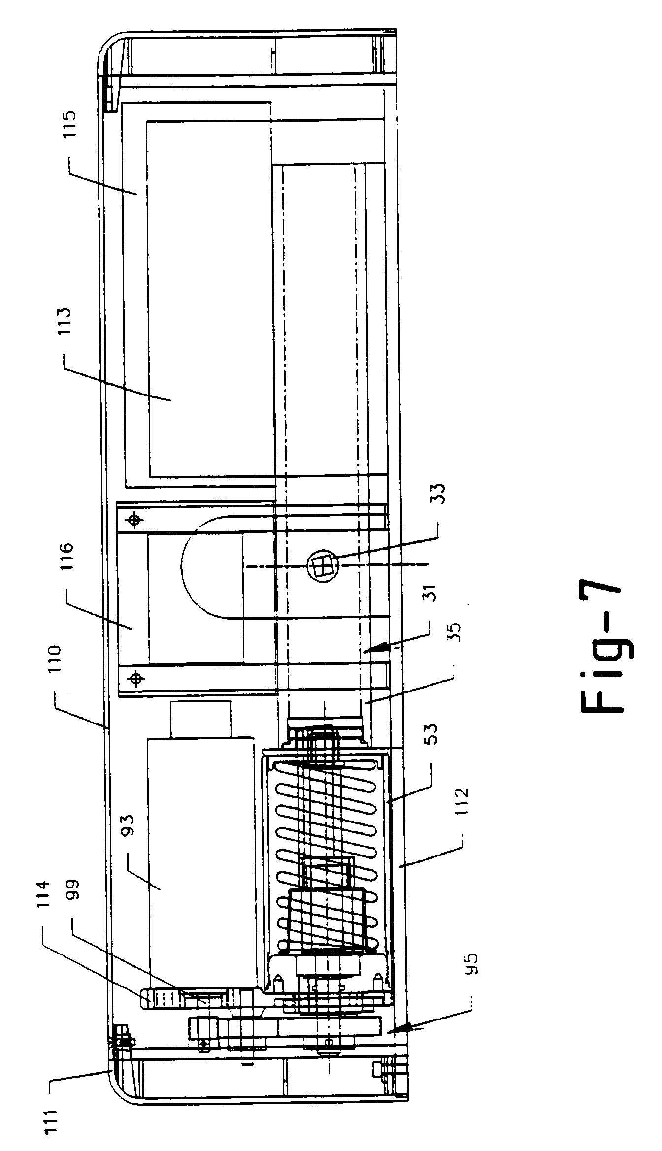 Patent ep0662185b1 mecanisme d 39 entrainement d 39 une porte for Mecanisme porte pivotante