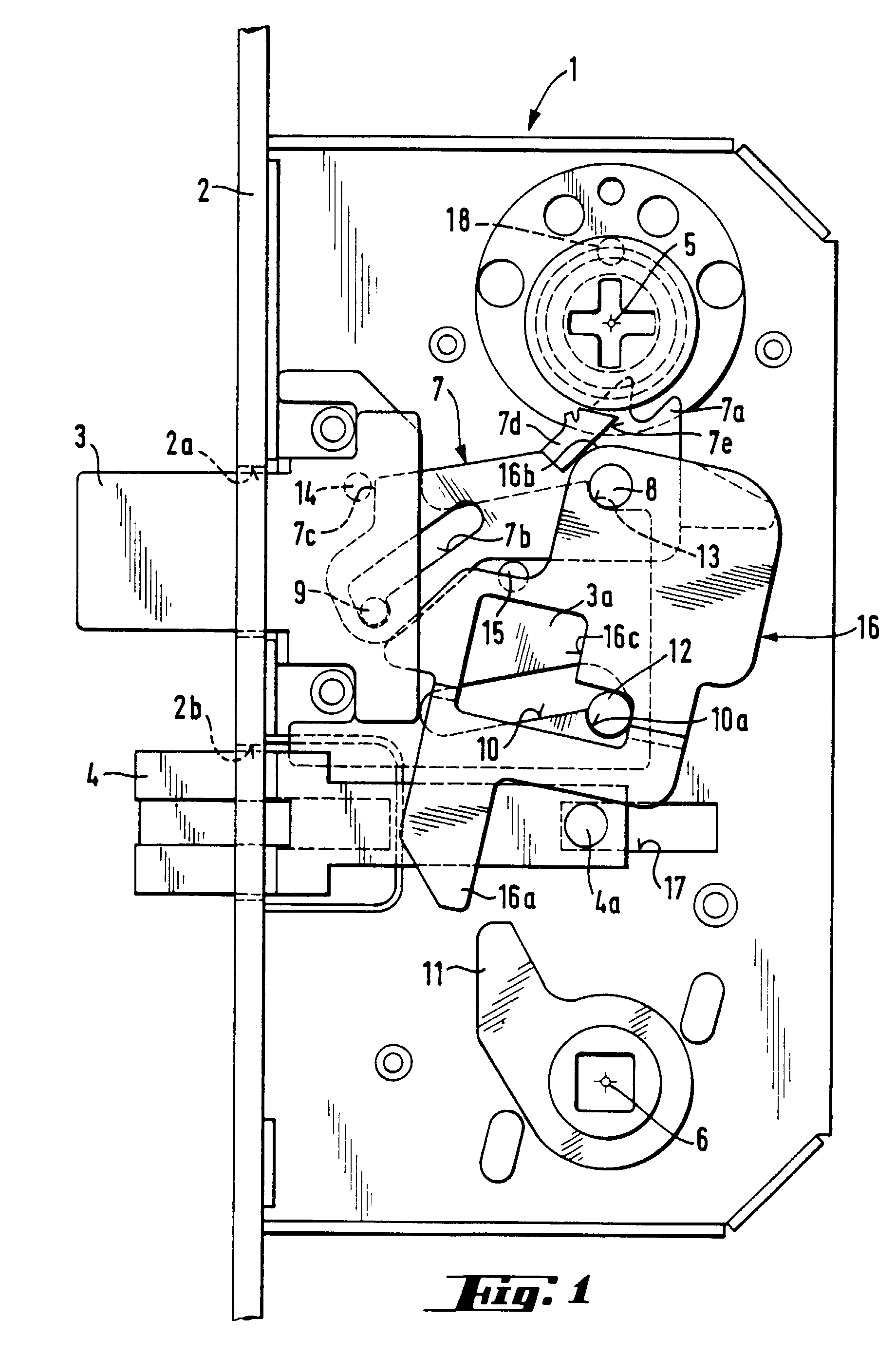 Patent Ep0668424b1 Door Lock With A Dead Bolt And A