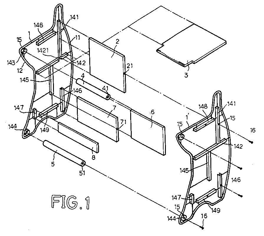 Ep0672371a1 multi purpose furniture google patents for I furniture assembly