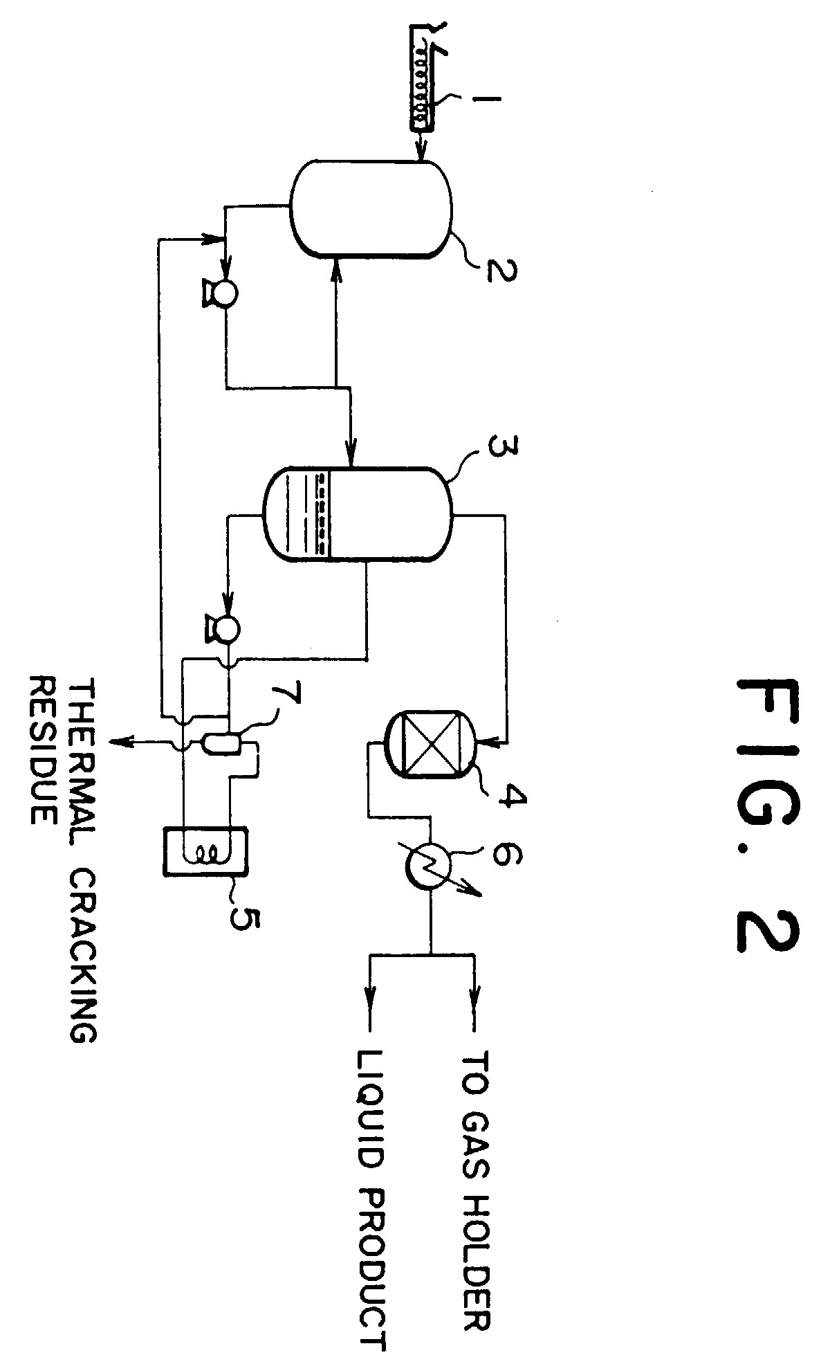 patent ep0675189b1 - method and apparatus for thermal cracking of waste plastics