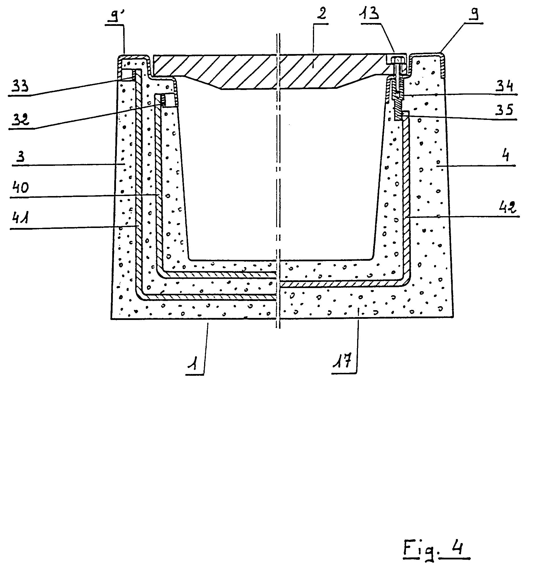 patent ep0675237a2 reinforced concrete gutter element. Black Bedroom Furniture Sets. Home Design Ideas