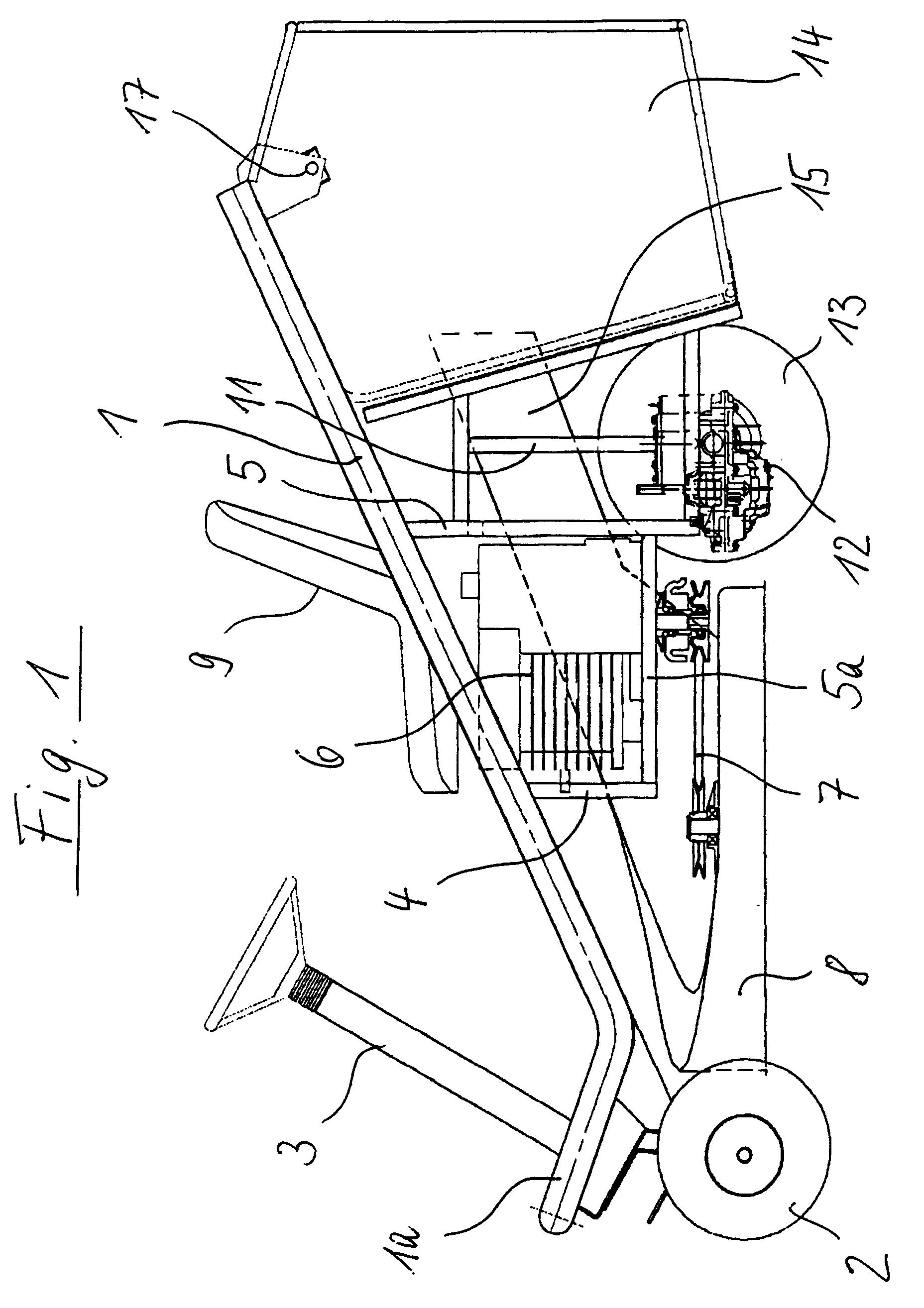 patent ep0678235b1 aufsitz rasenm her google patents. Black Bedroom Furniture Sets. Home Design Ideas