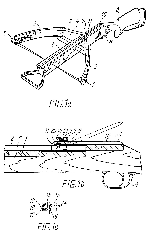 patent ep0678723b1 - the nizov crossbow