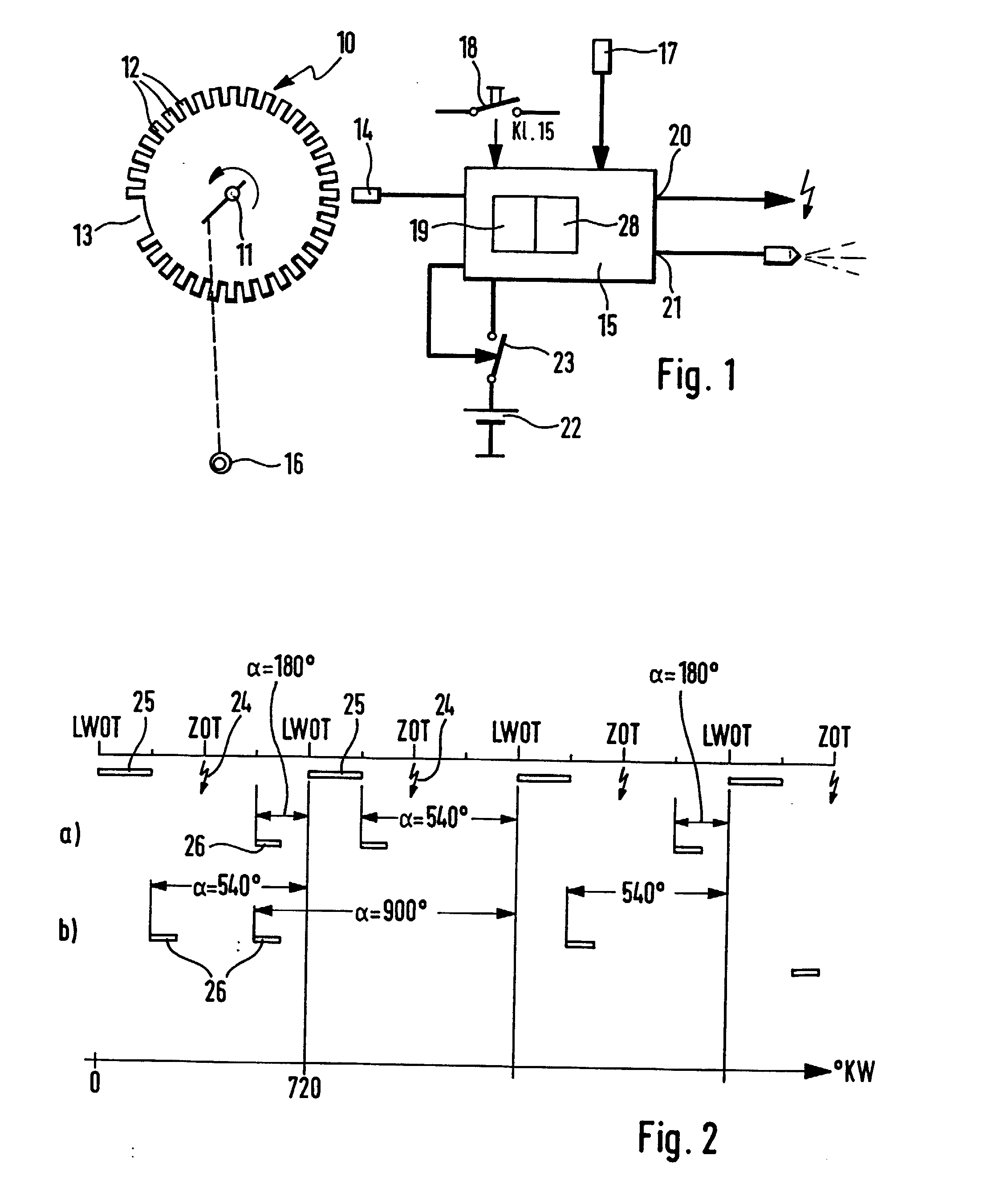 Patent Ep0684375b1 Apparatus For The Regulation Of An Internal 1 9 Sefi Engine Diagram Drawing