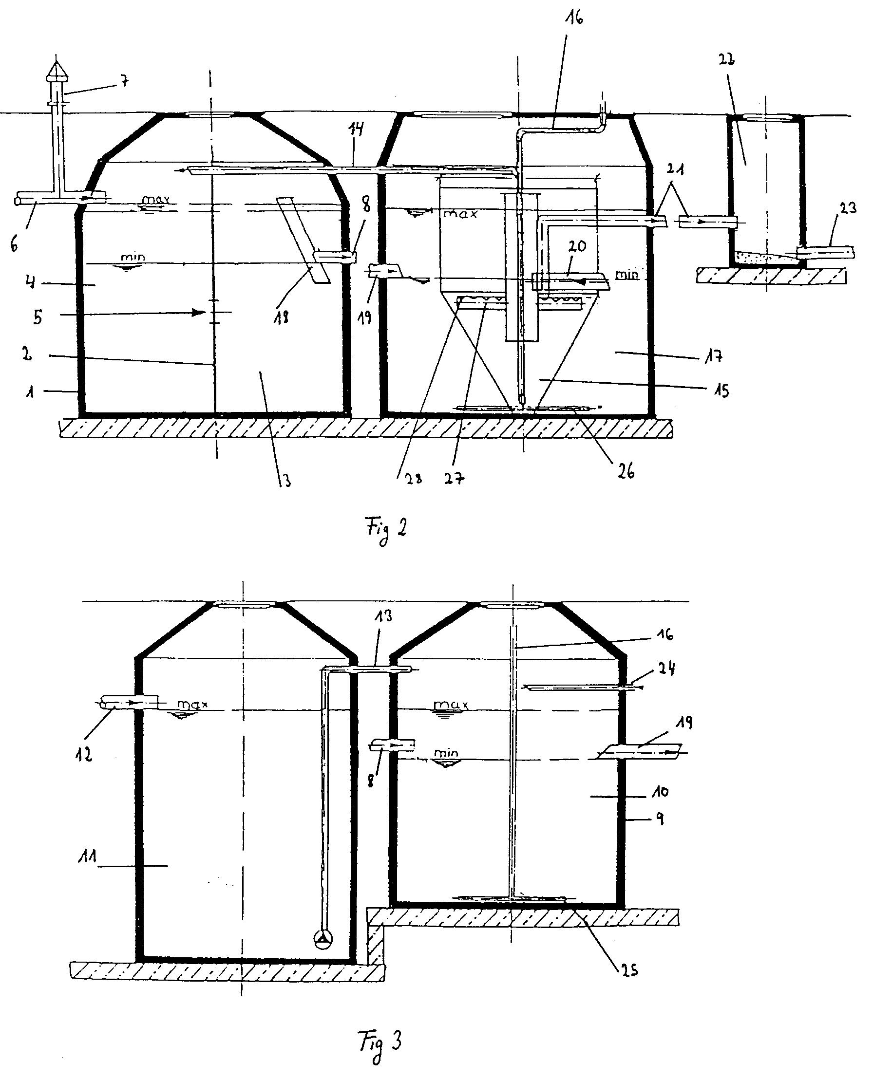 patent ep0688304b1 verfahren zur biologischen abwasserreinigung mit integrierter pufferung. Black Bedroom Furniture Sets. Home Design Ideas