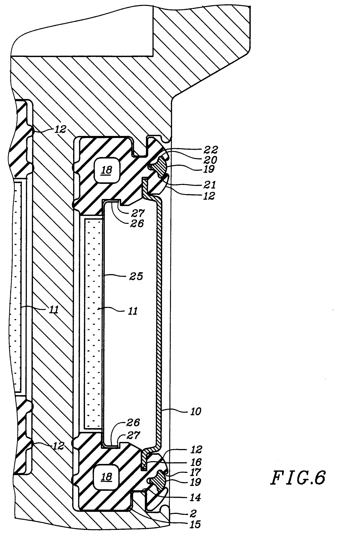 patent ep0689944b1 schallschutzschirm verfahren zur dessen montage auf einem drehenden teil. Black Bedroom Furniture Sets. Home Design Ideas
