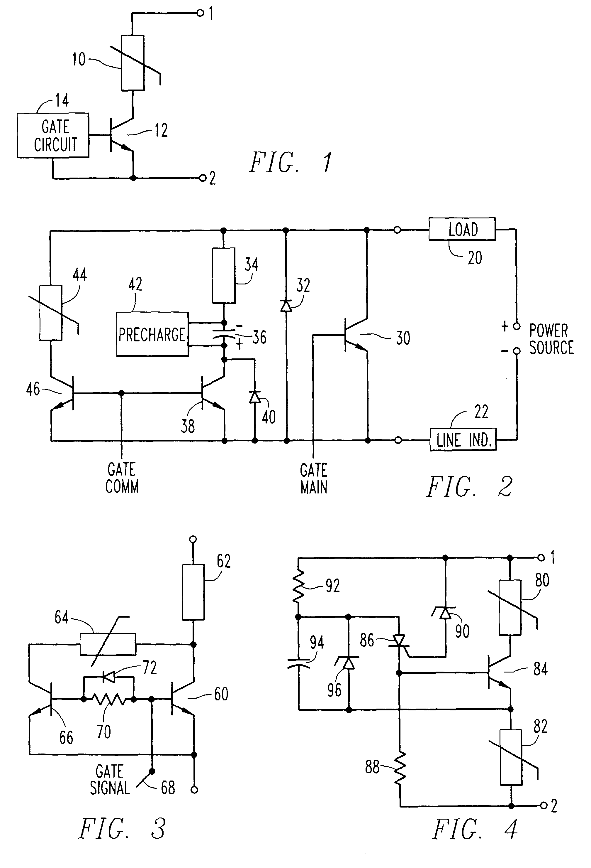 patent ep0701313b1 - circuit breaker and voltage clamp circuit