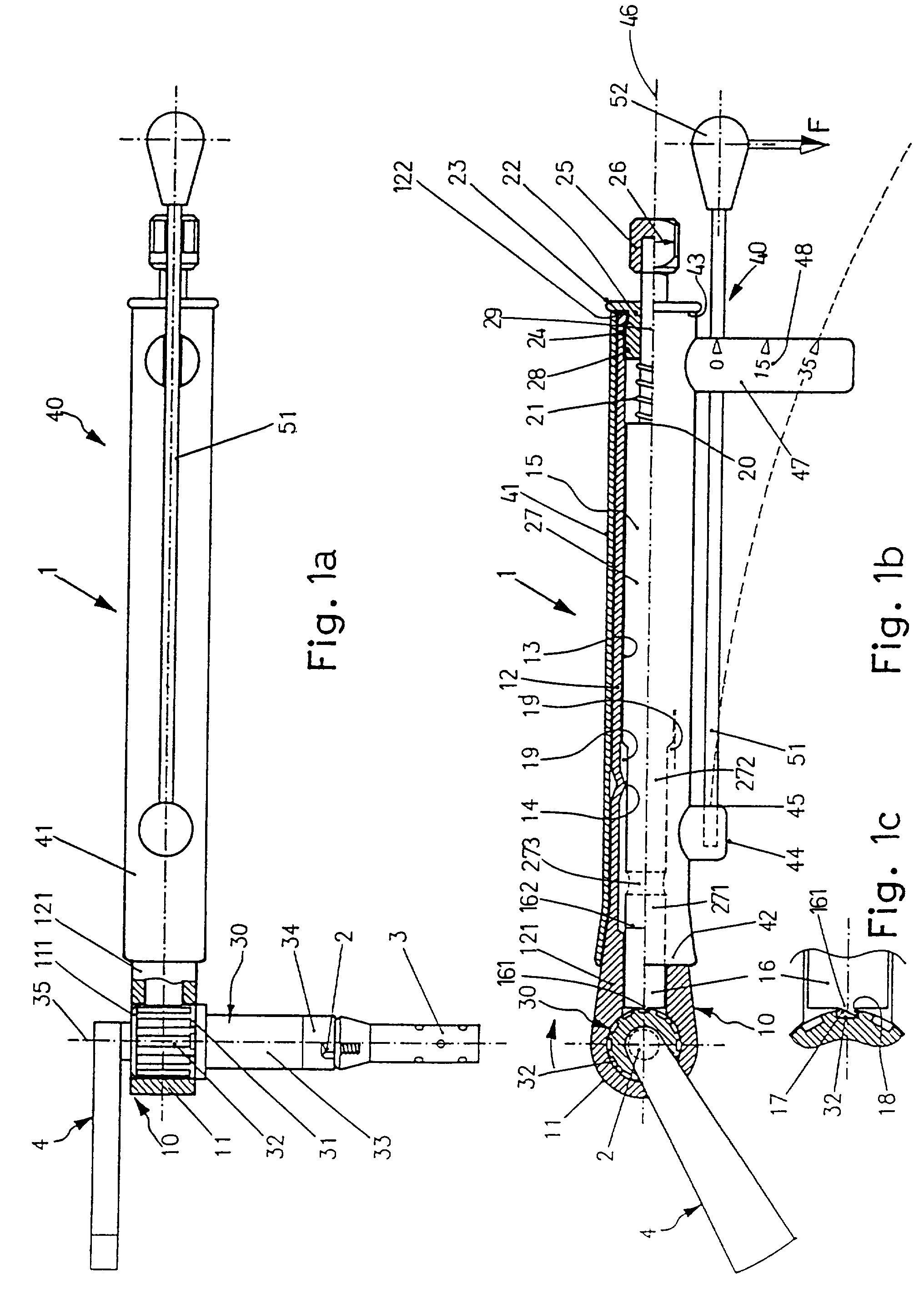 patent ep0704281a1 chirurgischer drehmomentschl ssel mit einem drehmomentindikator google. Black Bedroom Furniture Sets. Home Design Ideas