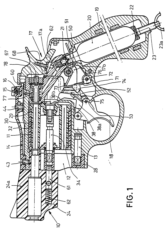 patent ep0704668b1 gasdruckrevolverwaffe google patents. Black Bedroom Furniture Sets. Home Design Ideas