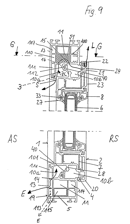 patent ep0719374b1 fenster oder fenstert r mit. Black Bedroom Furniture Sets. Home Design Ideas
