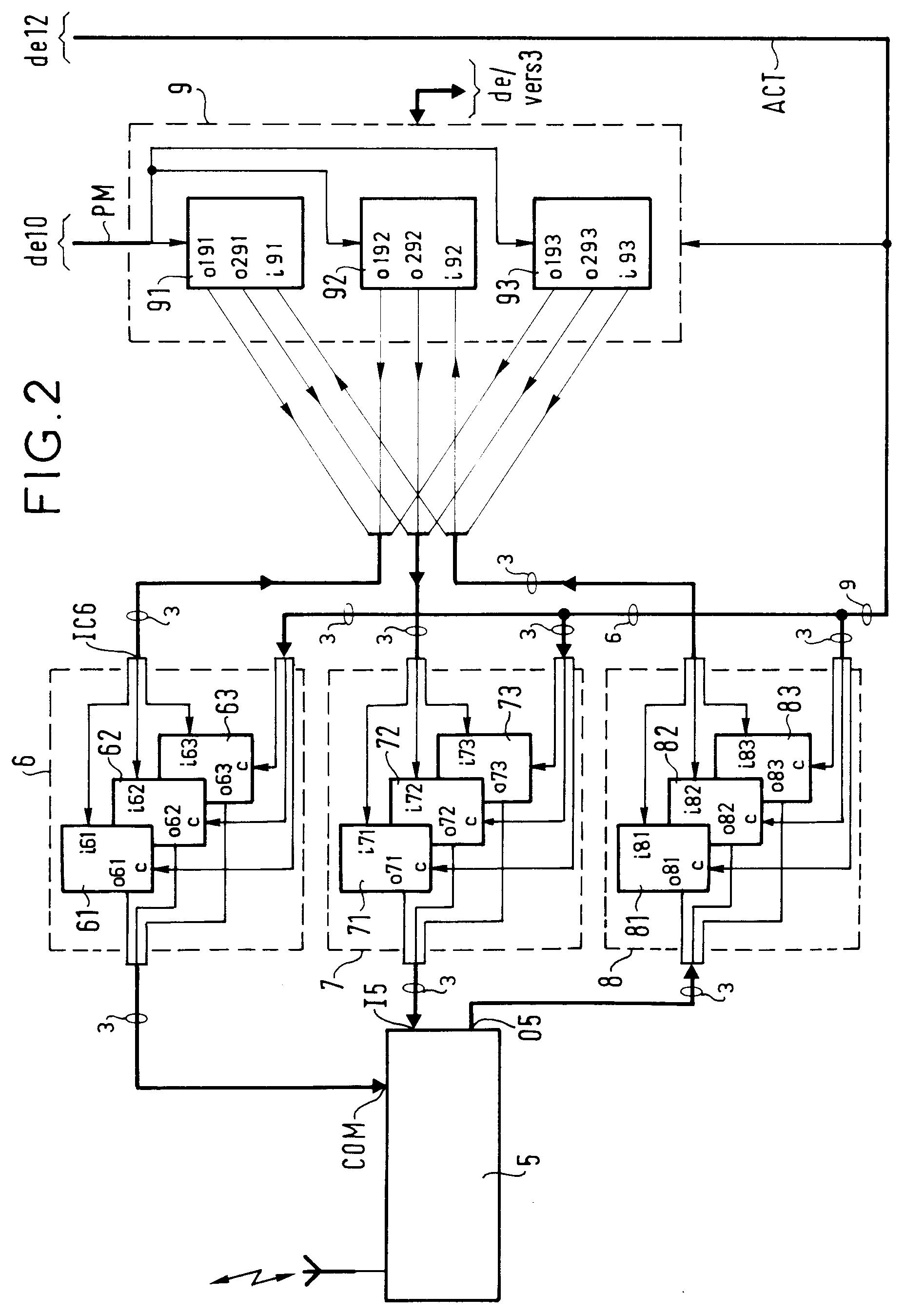 专利ep0721289a1 - system