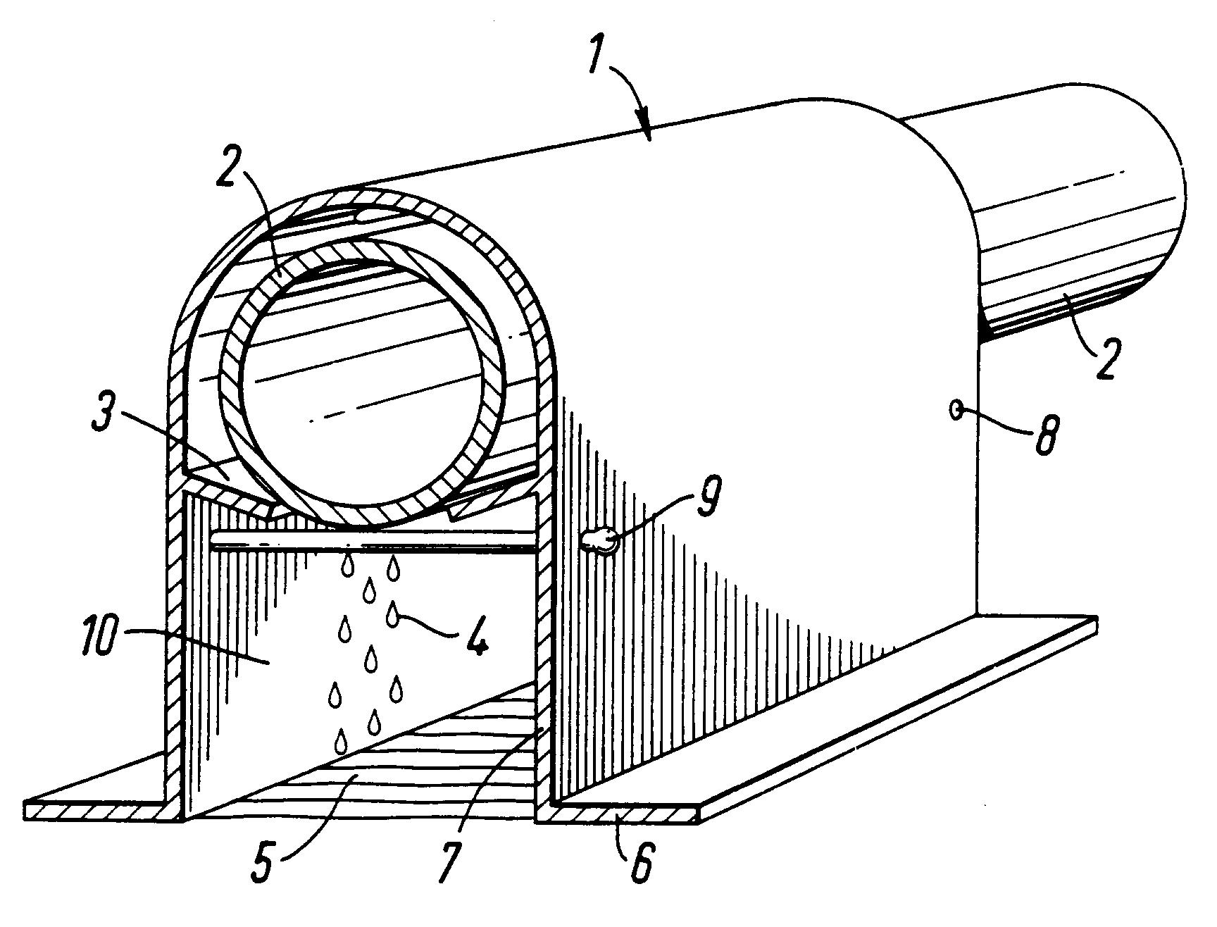 patent ep0730400b1 schutzk rper abdeckung zum verlegen ber auslass ffnungen von rohren f r. Black Bedroom Furniture Sets. Home Design Ideas