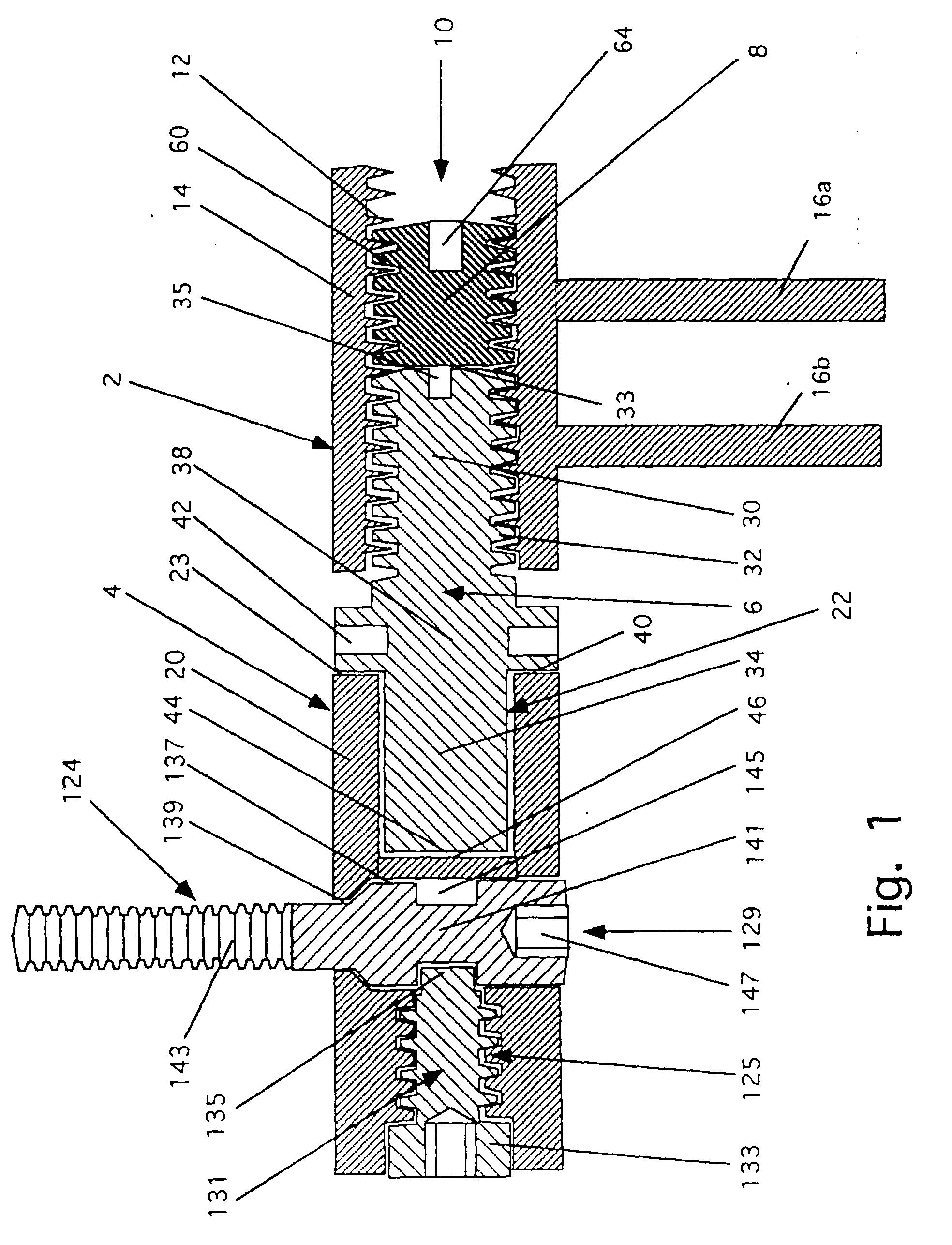 patent ep0741222b1 verstellbares t rband google patents. Black Bedroom Furniture Sets. Home Design Ideas