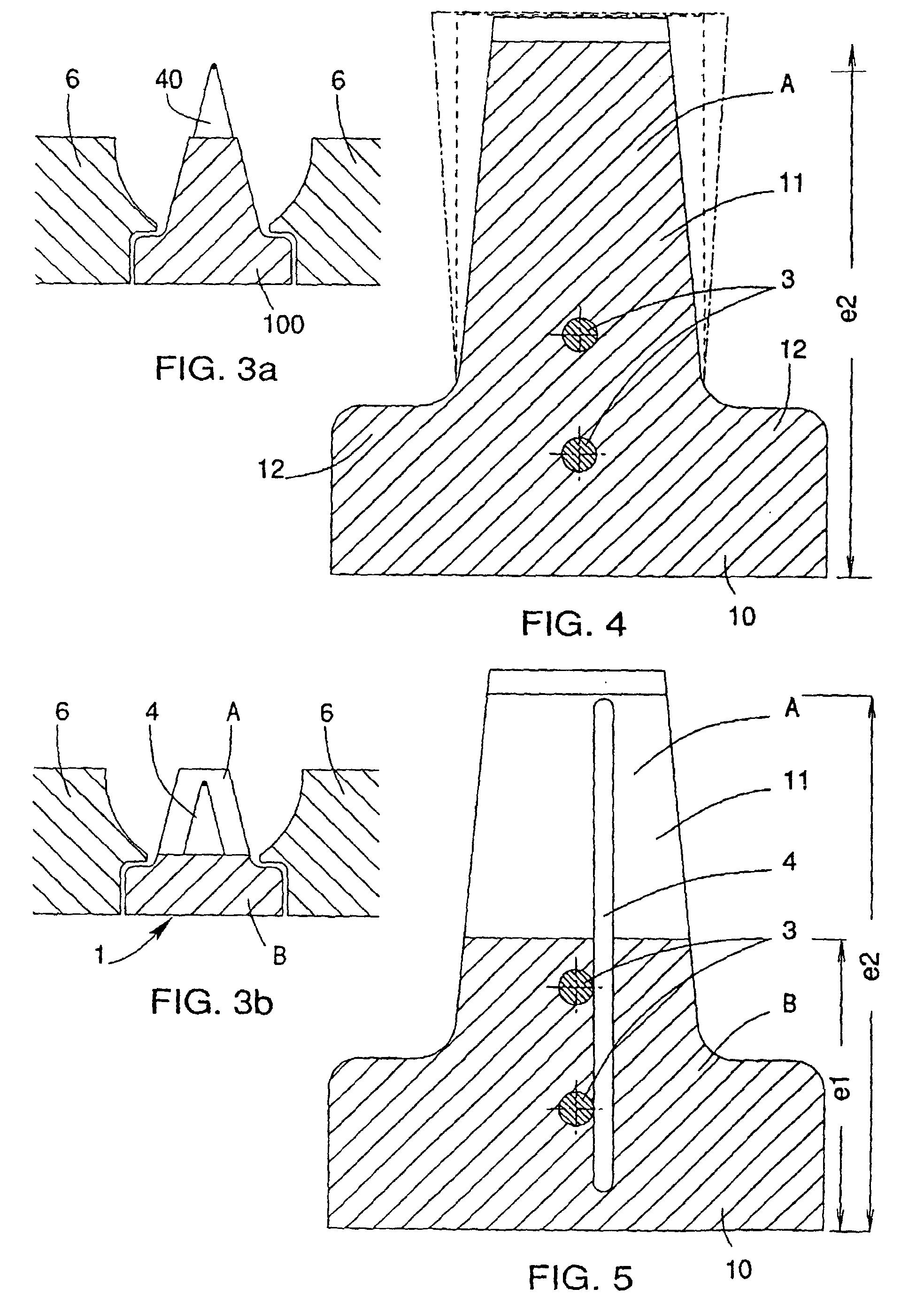 patent ep0744511b1 poutrelle en b ton pr contraint et. Black Bedroom Furniture Sets. Home Design Ideas