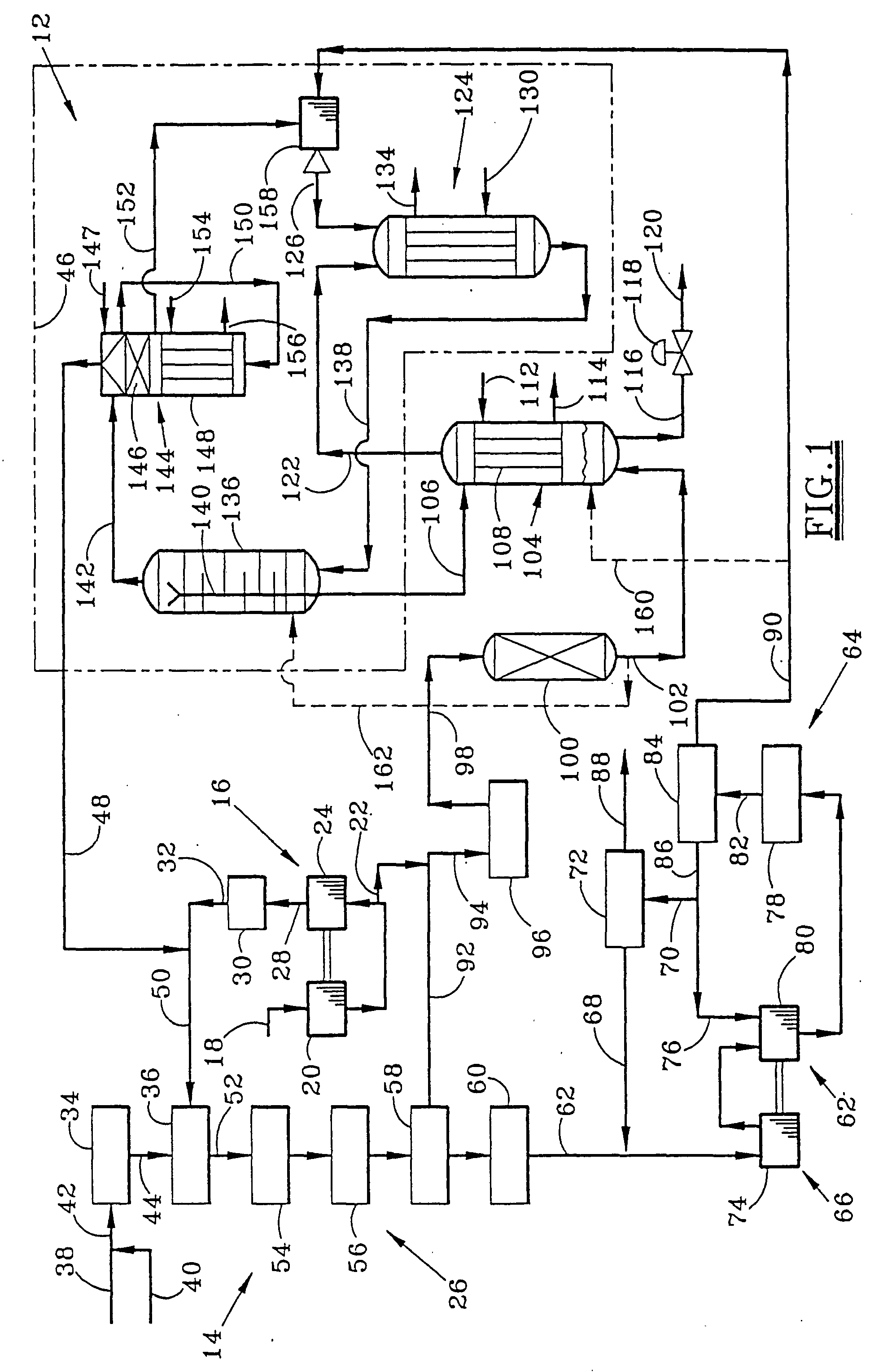 patent ep0748794b1  ammonia process
