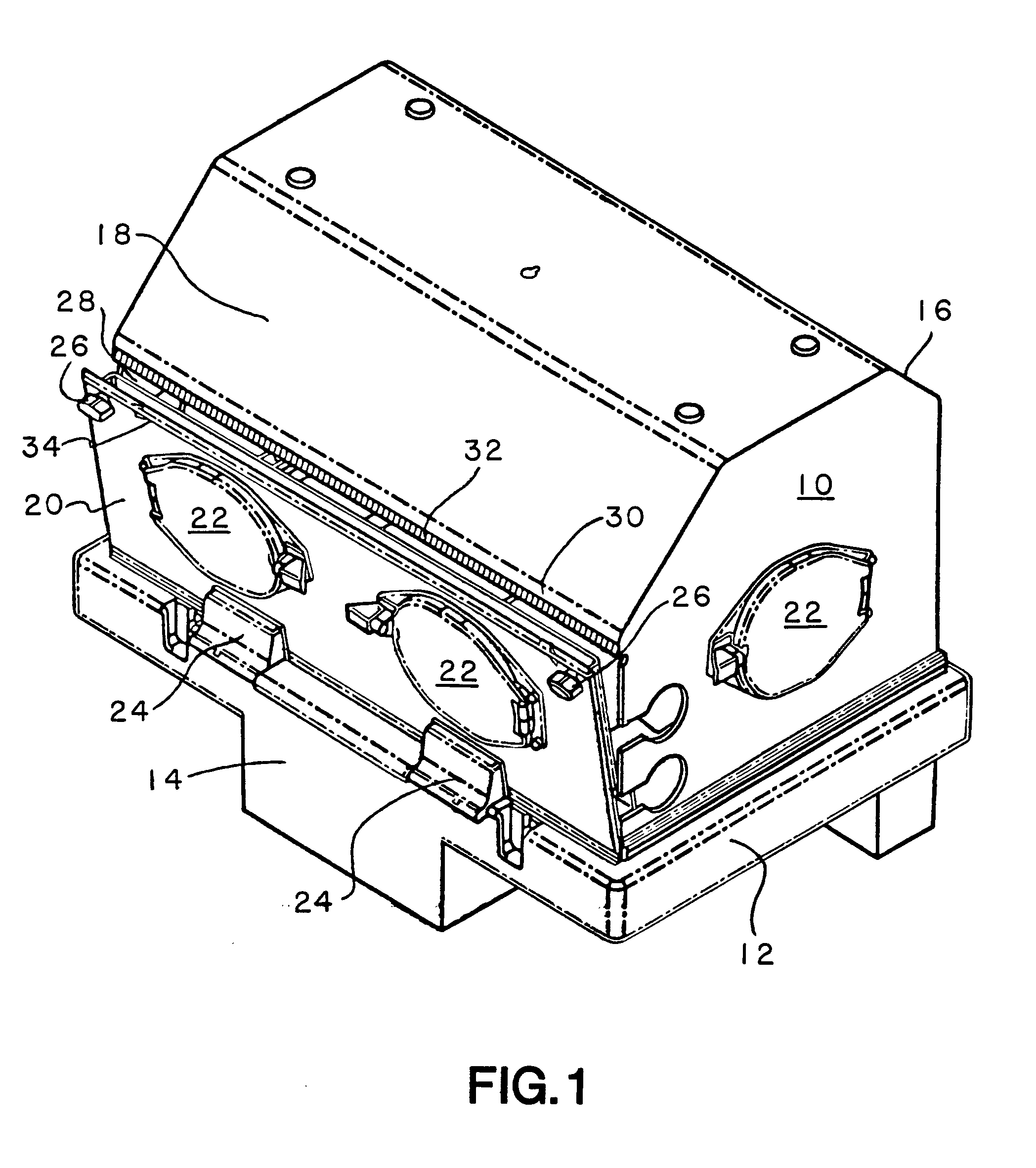 patent ep0749743b1 - magnetic door seal for infant incubator
