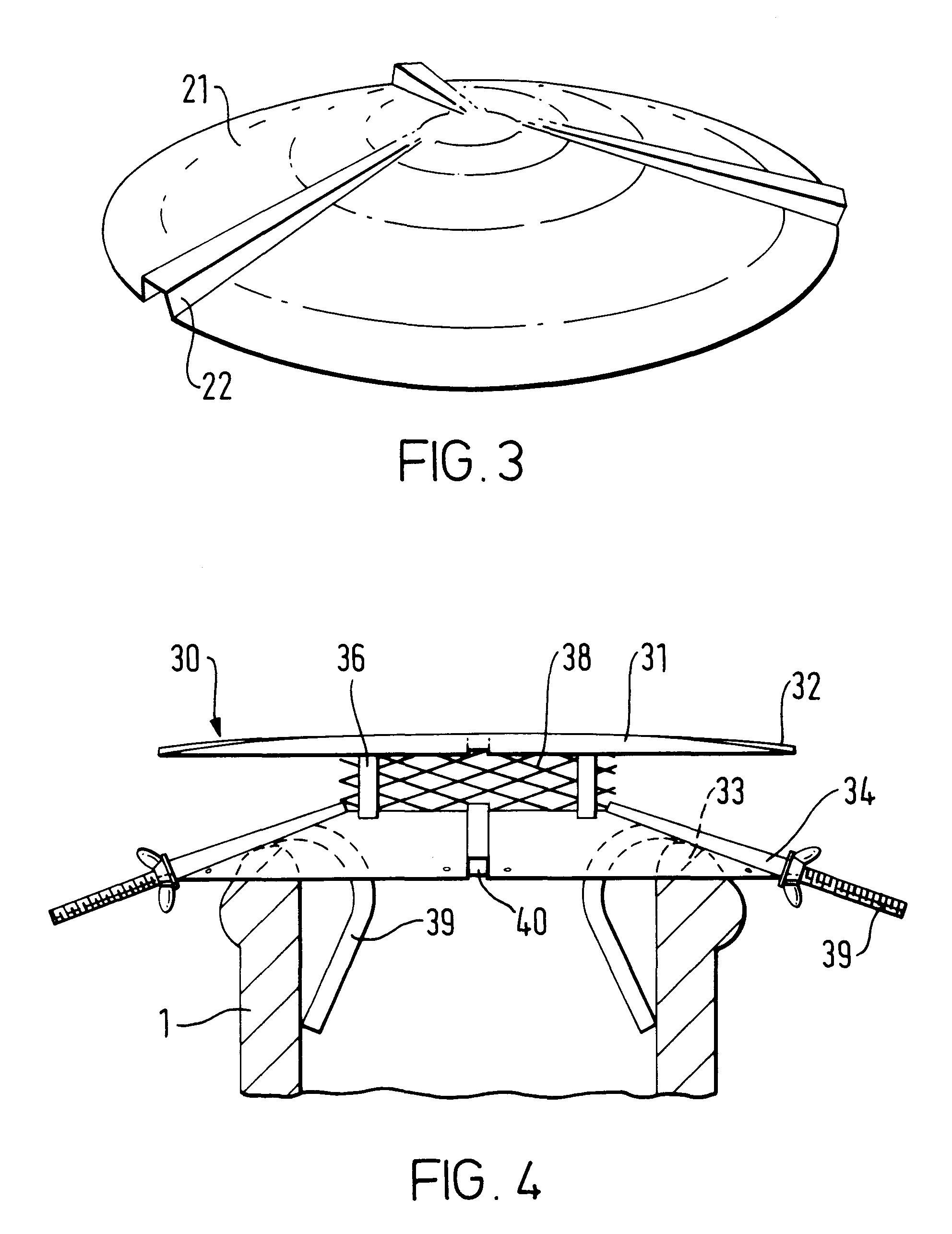 patent ep0753703a2 chapeau de chemin e google patents. Black Bedroom Furniture Sets. Home Design Ideas