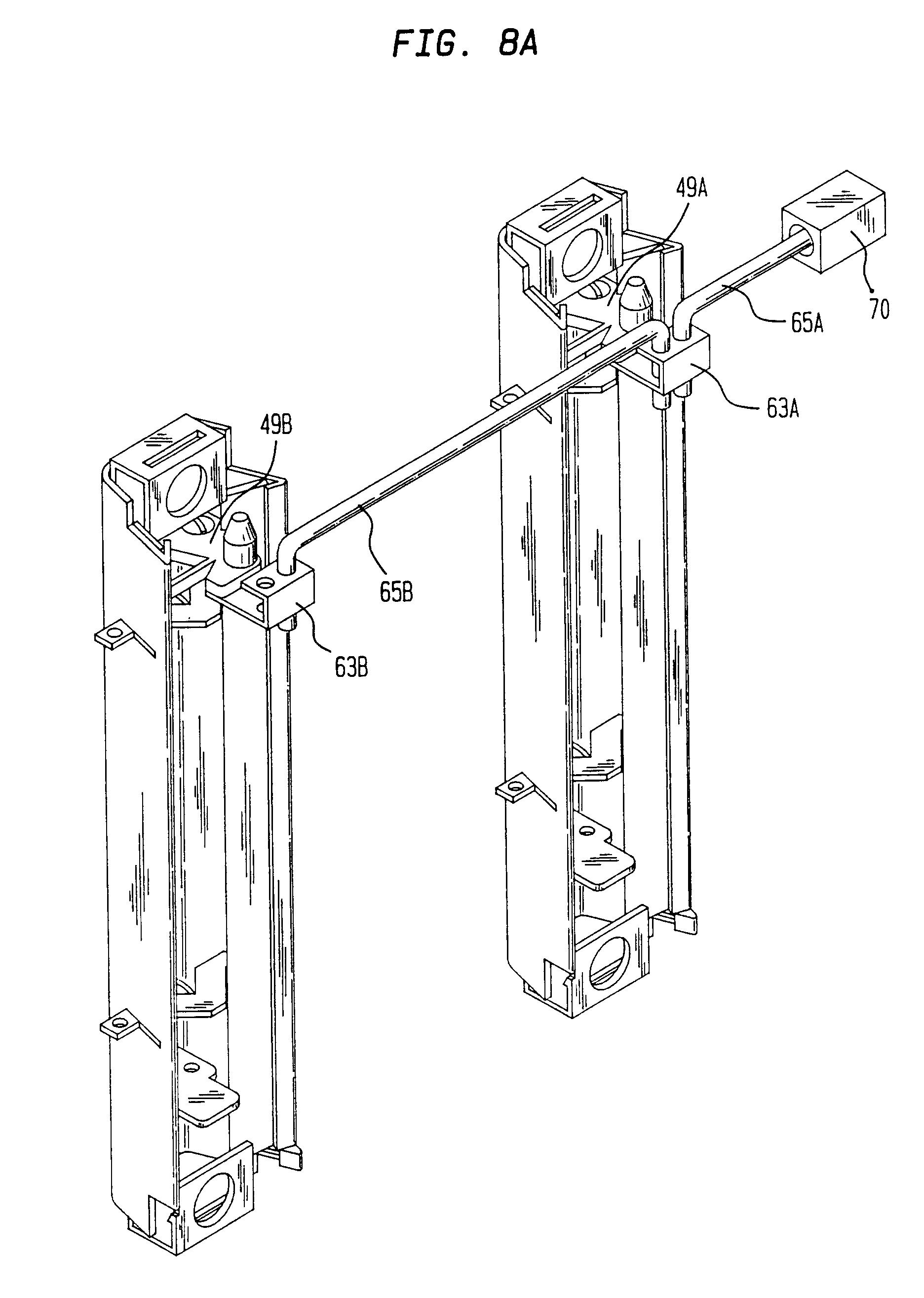 Patent EP0755478B1 - Cabinet drawer interlocking system - Google ...